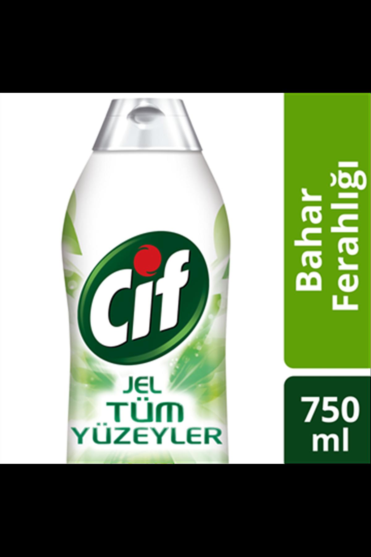Cif Tüm Yüzeyler Bahar Ferahlığı Banyo & Mutfak 750 ml