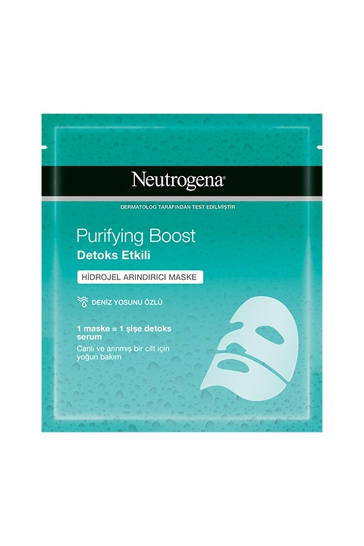 Neutrogena Purifying Boost Detoks Etkili Hidrojel Arındırıcı Maske 30 ML