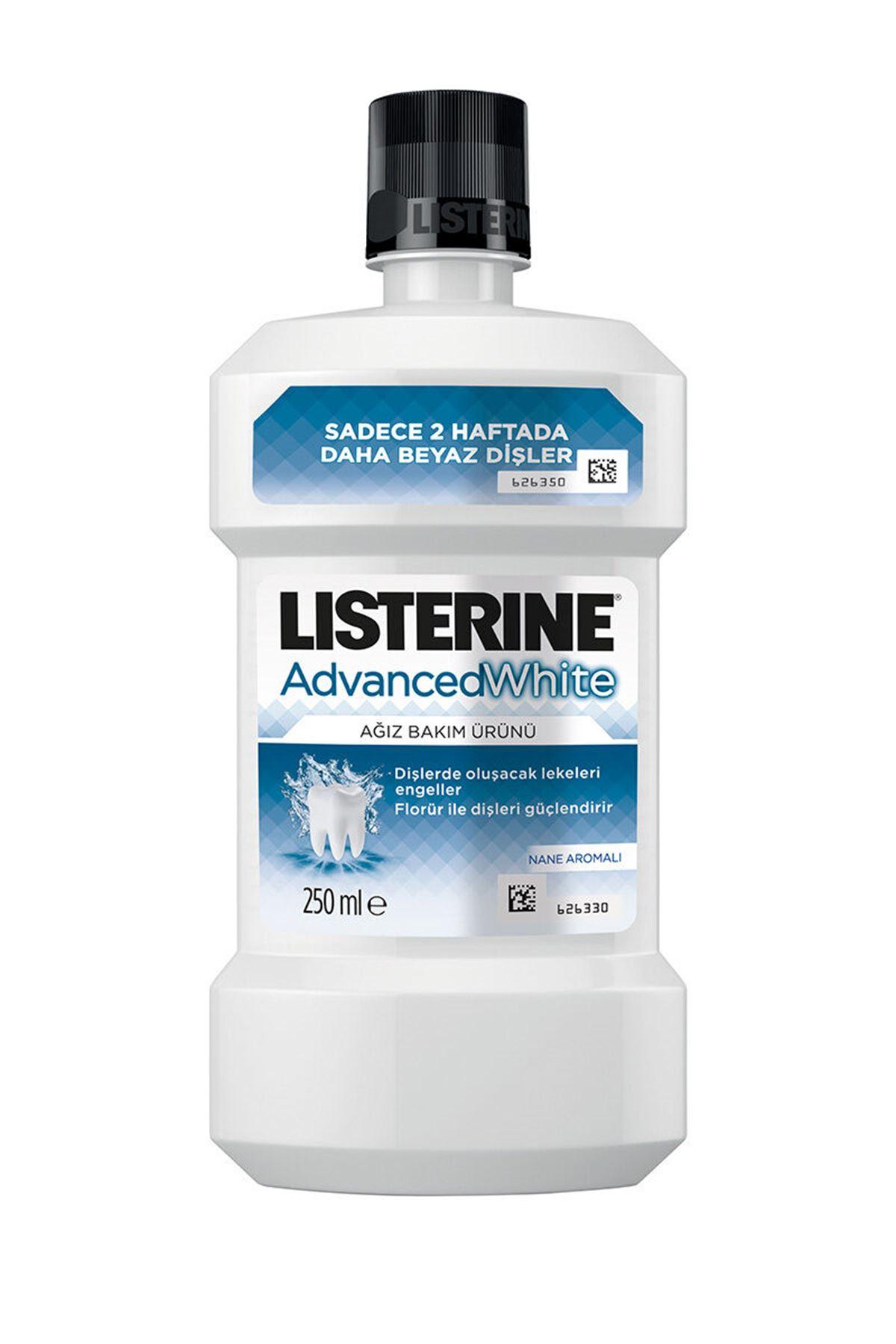 Listerine Advance White Hafif Tat 250 ML