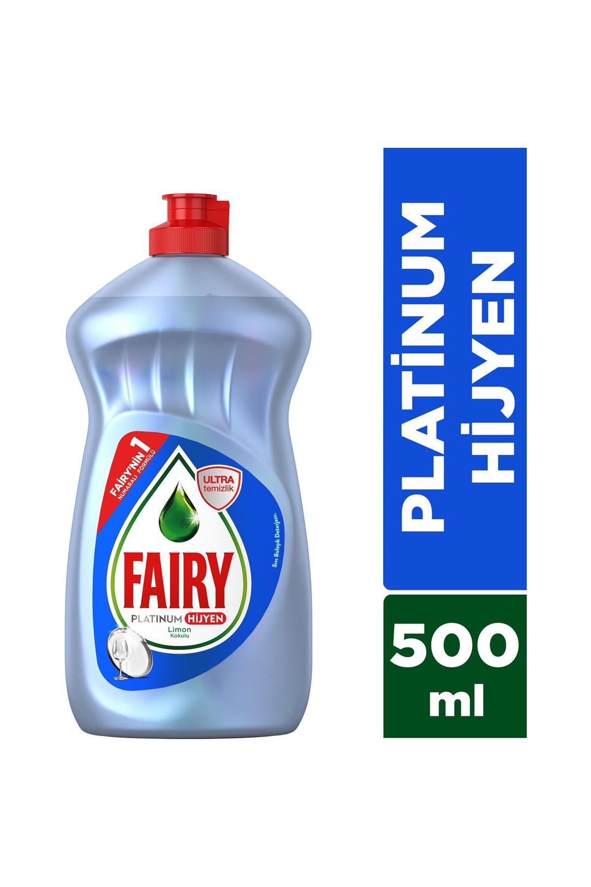 Fairy Platinum Hijyen 500 ml Limon