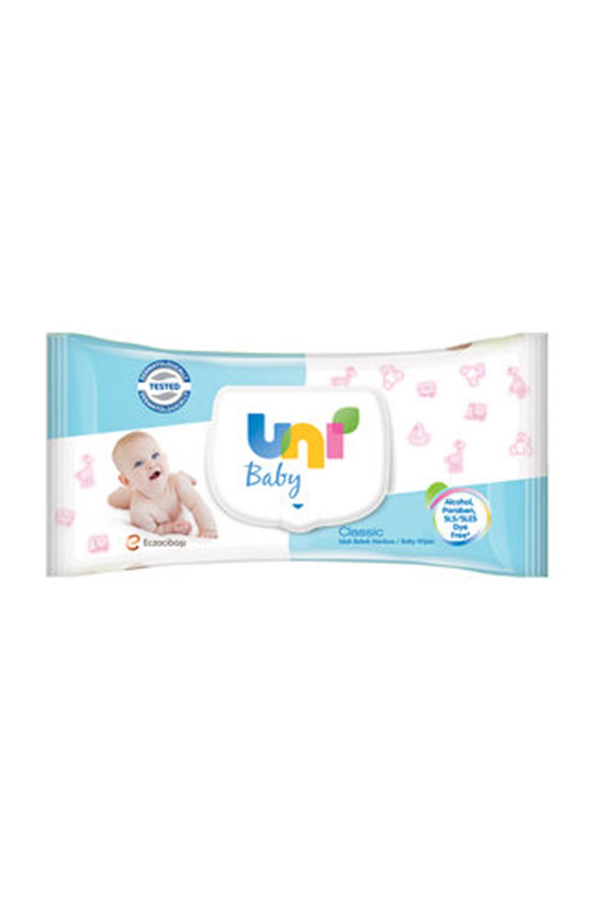 Uni Baby Classic Islak Havlu 56 Adet