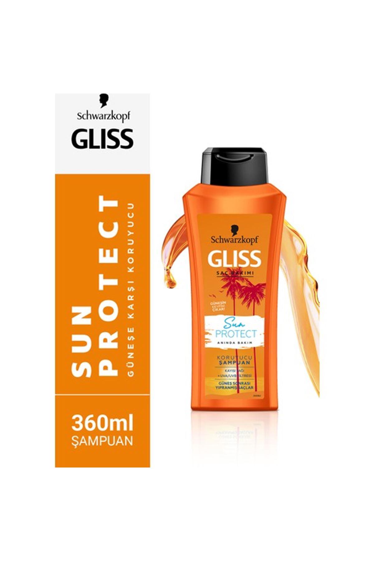 Gliss Sun Protect Şampuan 360 ml