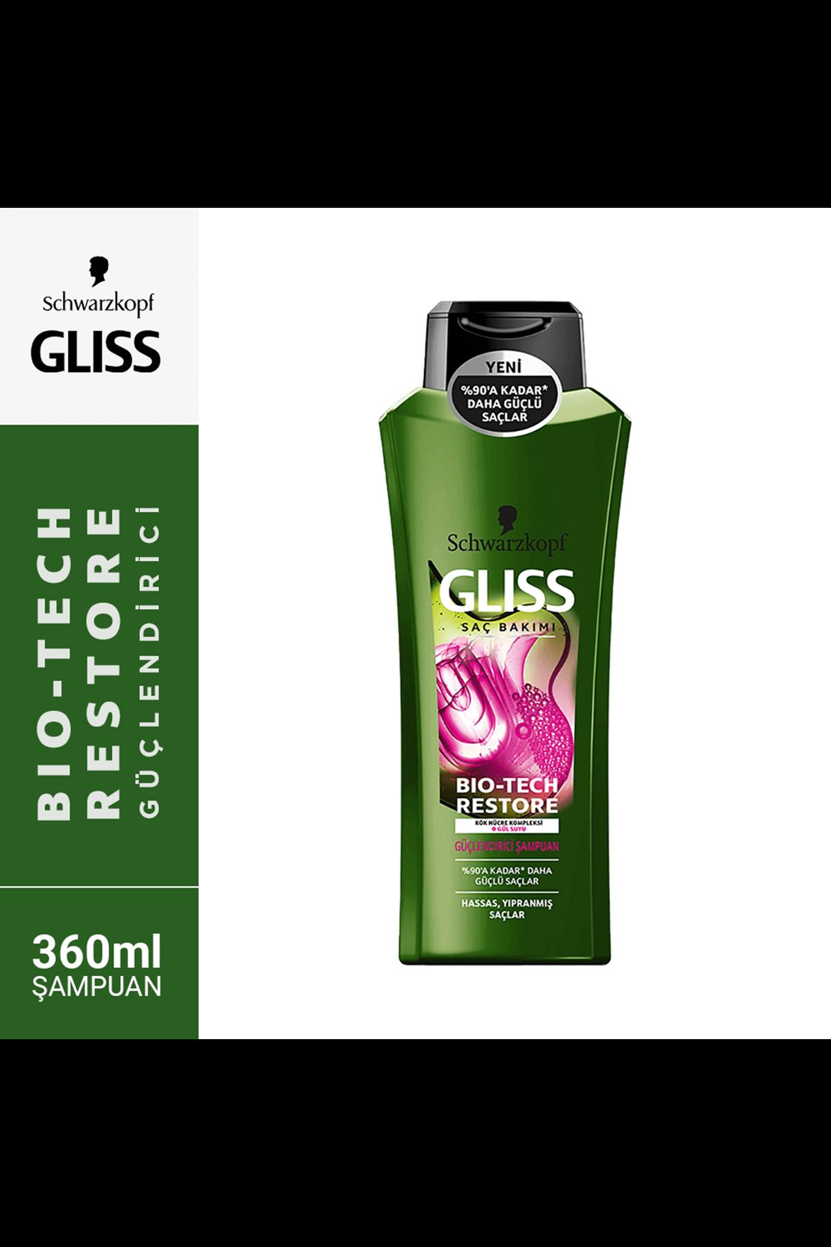 Gliss Bio-Tech Şampuan Güçlendirici 360 ml