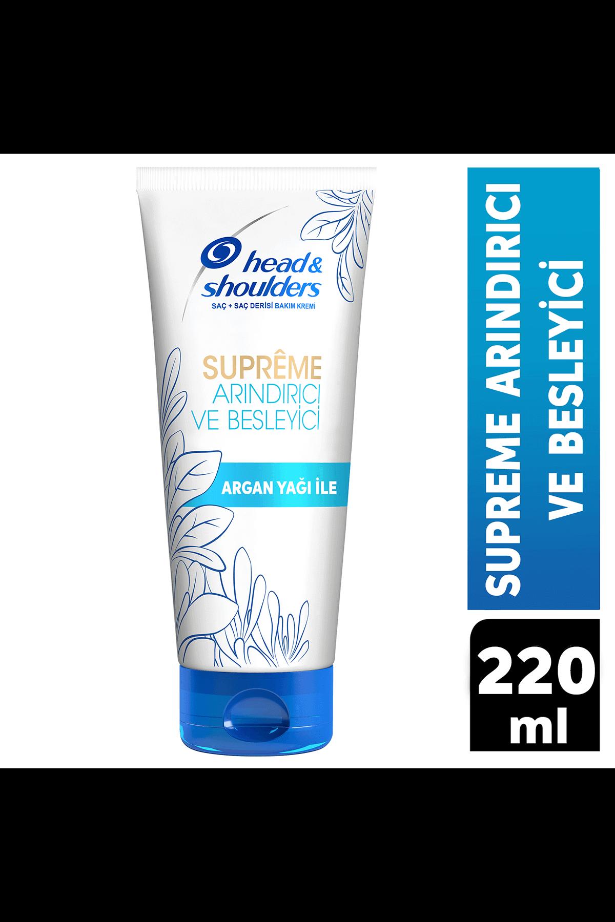 Head & Shoulders Supreme Arındırıcı ve Besleyici Kepeğe Karşı Etkili Saç Bakım Kremi 220 ml