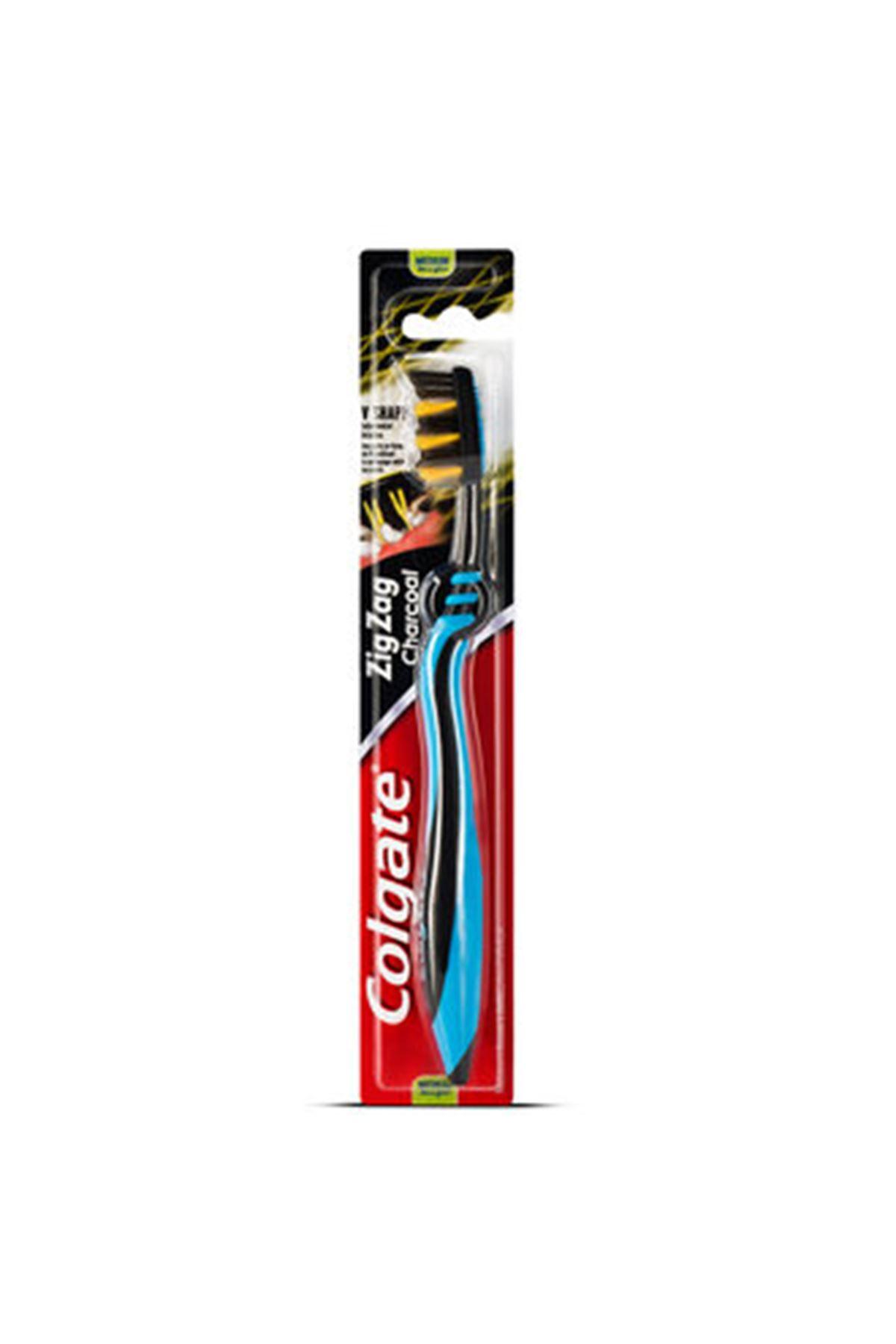 Colgate Zig Zag Charcoal Orta Diş Fırçası