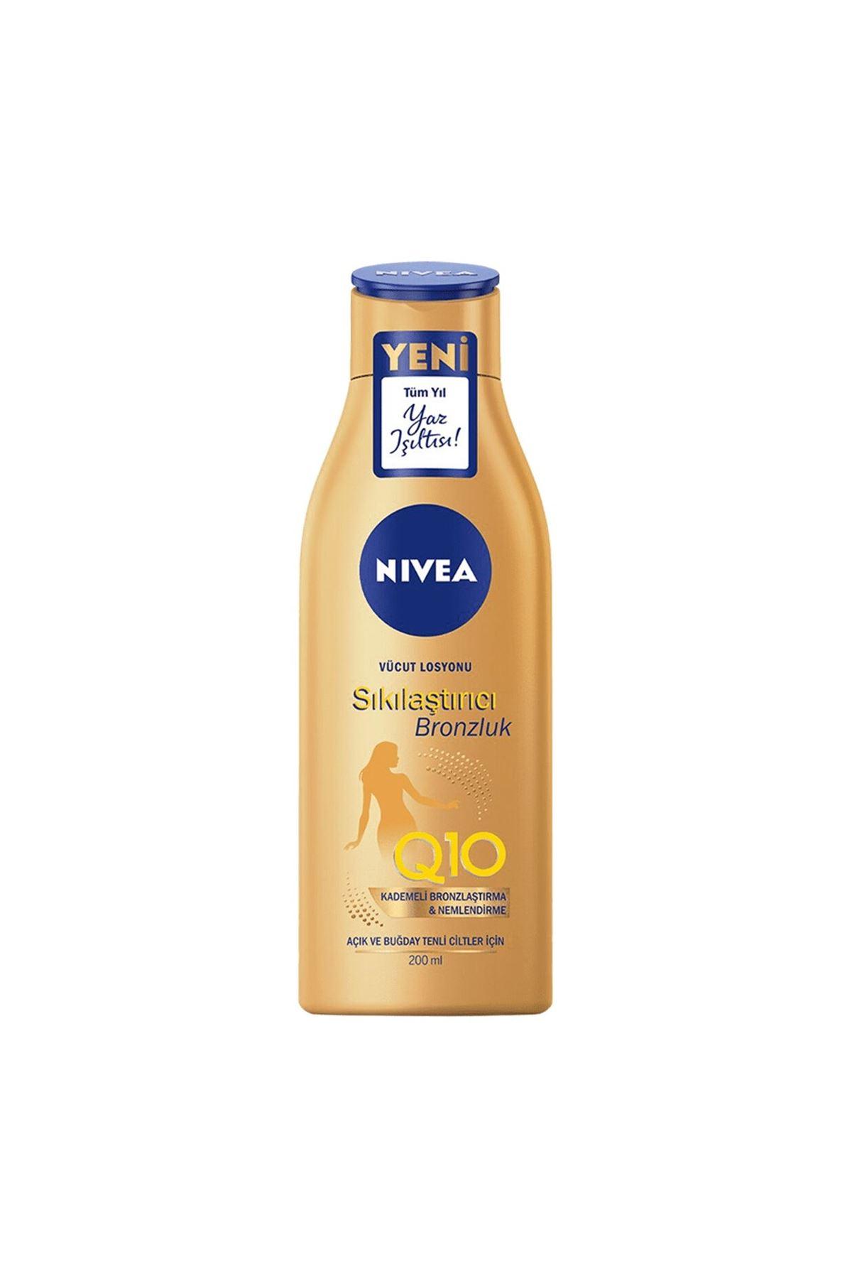 Nivea Body Q10 Sıkılaştırıcı & Bronzlaştırıcı Vücut Losyonu 200 Ml