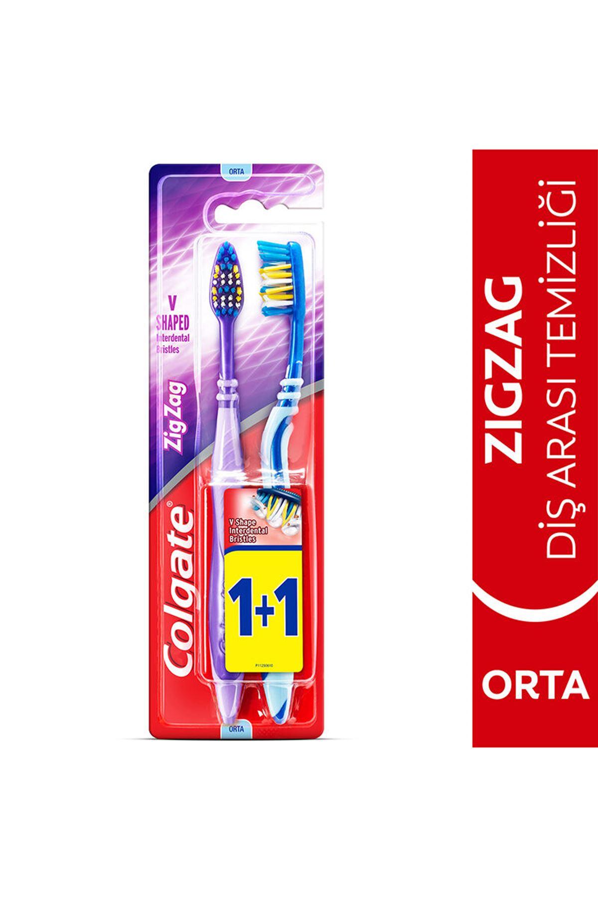 Colgate Diş Fırçası Zigzag 1+1