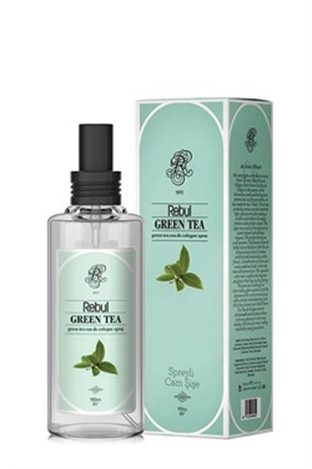 Rebul Green Tea 100 ML Sprey Cam Şişe