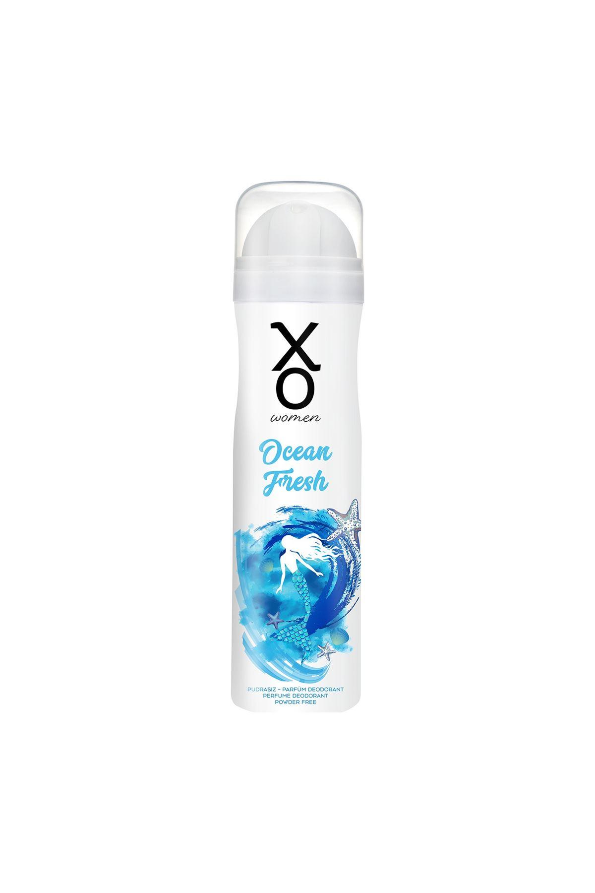 Xo Ocean Fresh Women Sprey Deodorant 150 ml