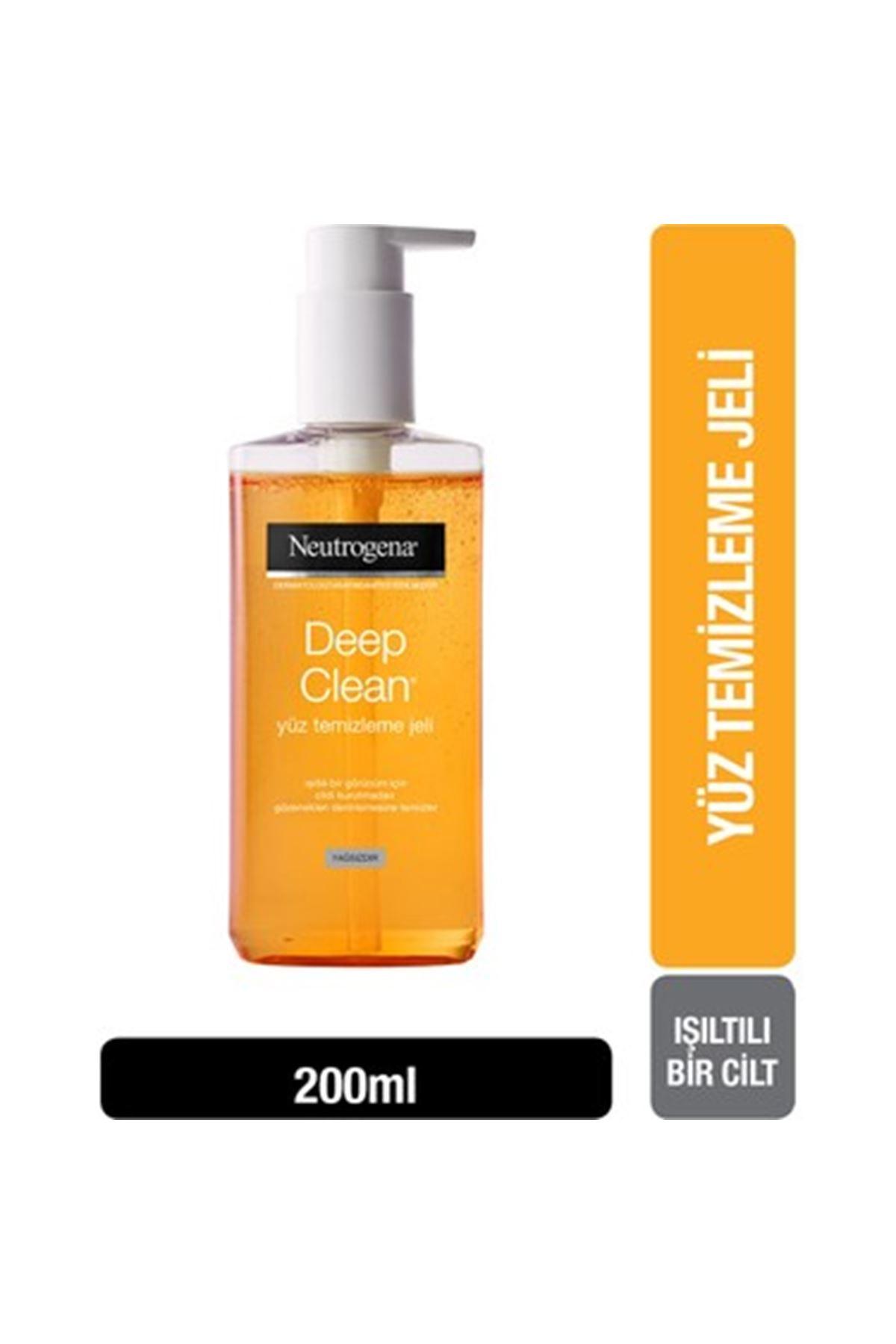 Neutrogena Deep Clean Yüz Yıkama Jeli 200 ml