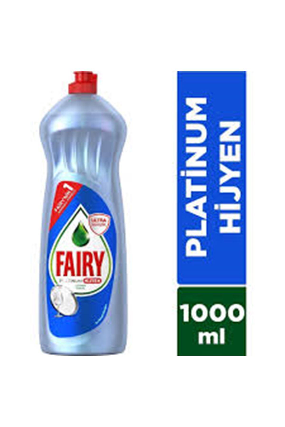 Fairy Platinum Hijyen Sıvı Bulaşık Deterjanı Limon 1000 Ml