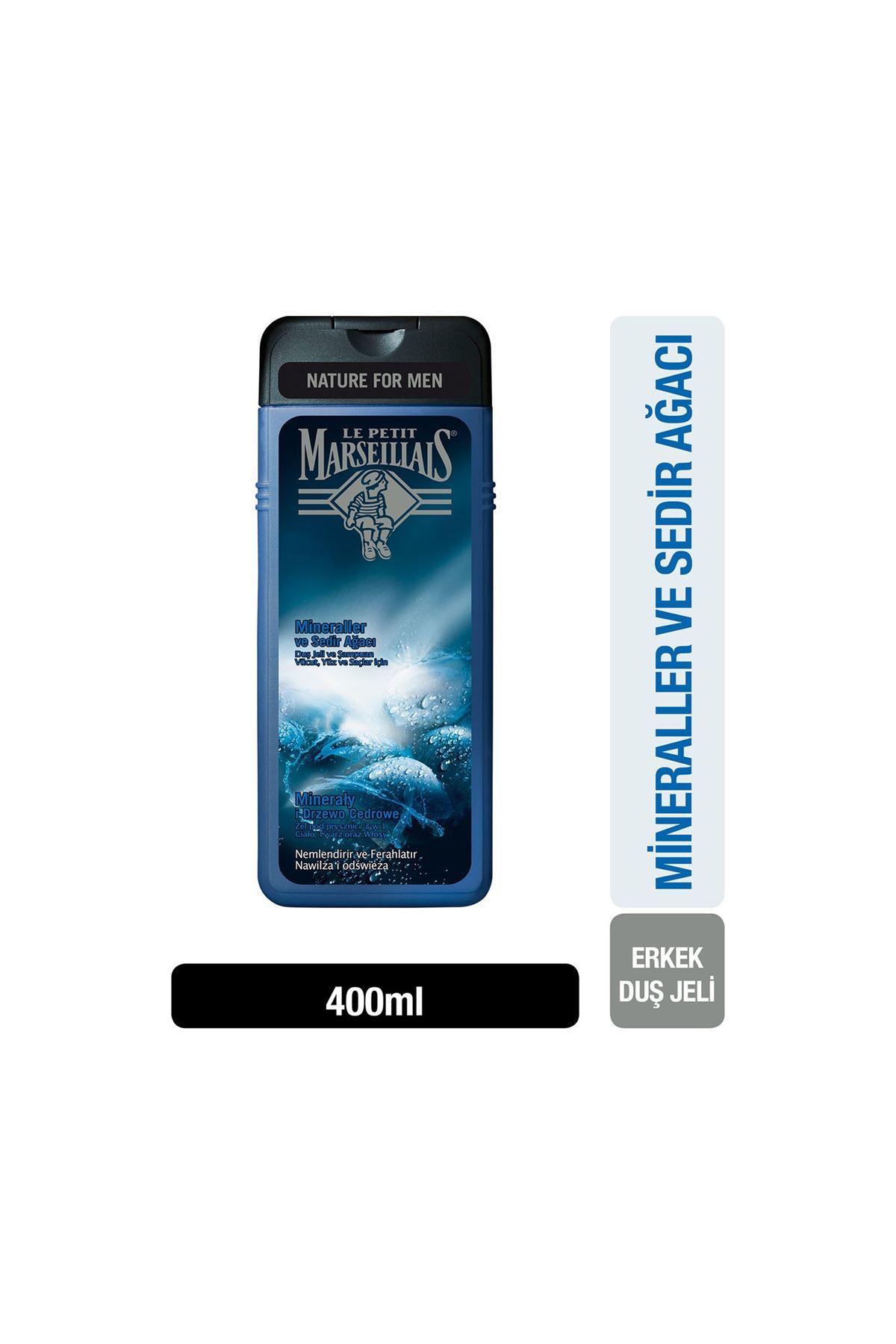 Le Petit Marseillais Mineraller Ve Sedir Ağacı Duş Jeli Men *400 ml