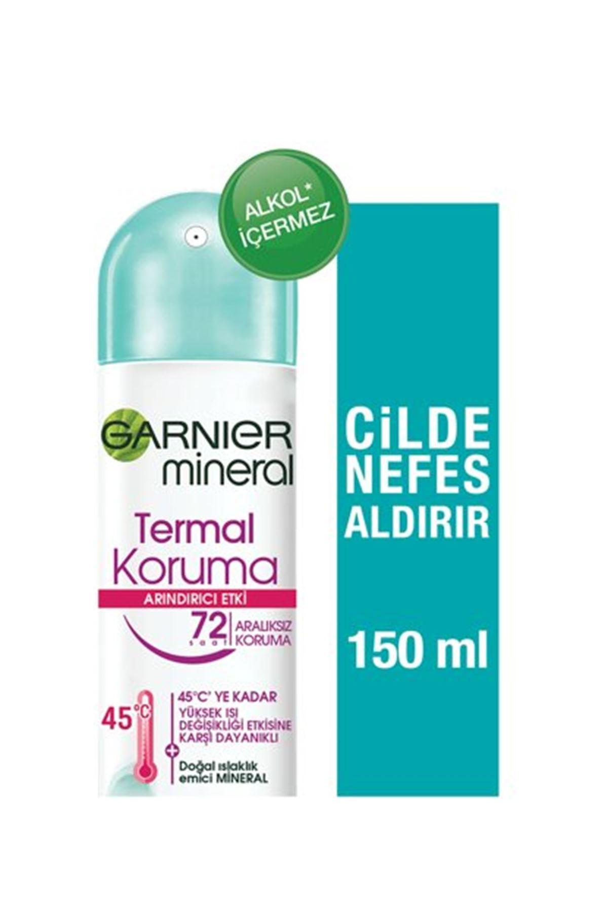 Garnier Termal Koruma Kadın Deodorant Sprey 150 ml