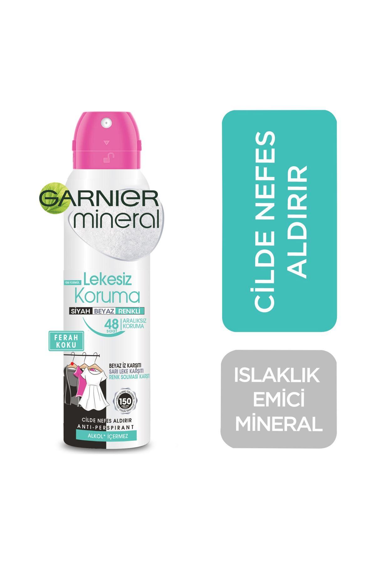 Garnier Mineral Deodorant Lekesiz Koruma 150 Ml