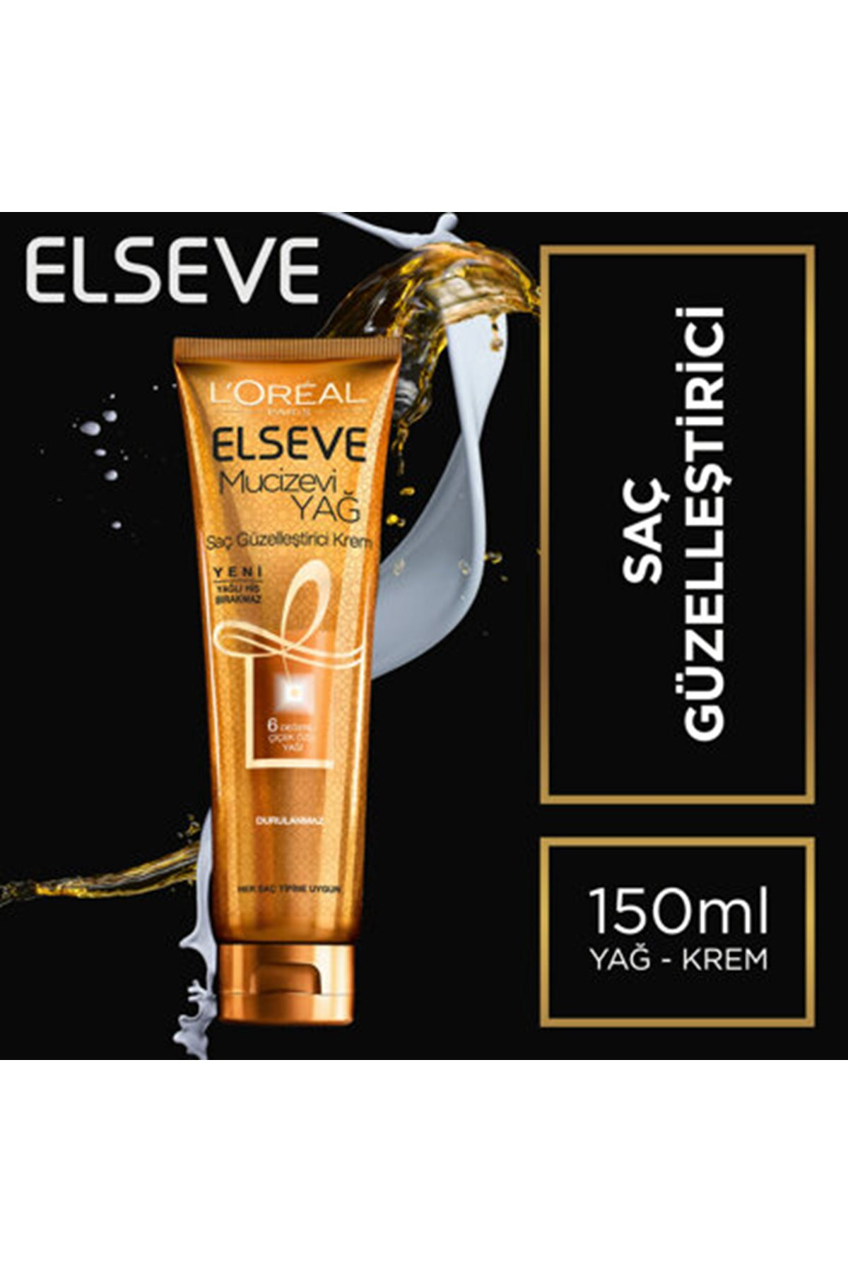 L'Oreal Paris Elseve Saç Güzelleştirici Saç Kremi 150 ml