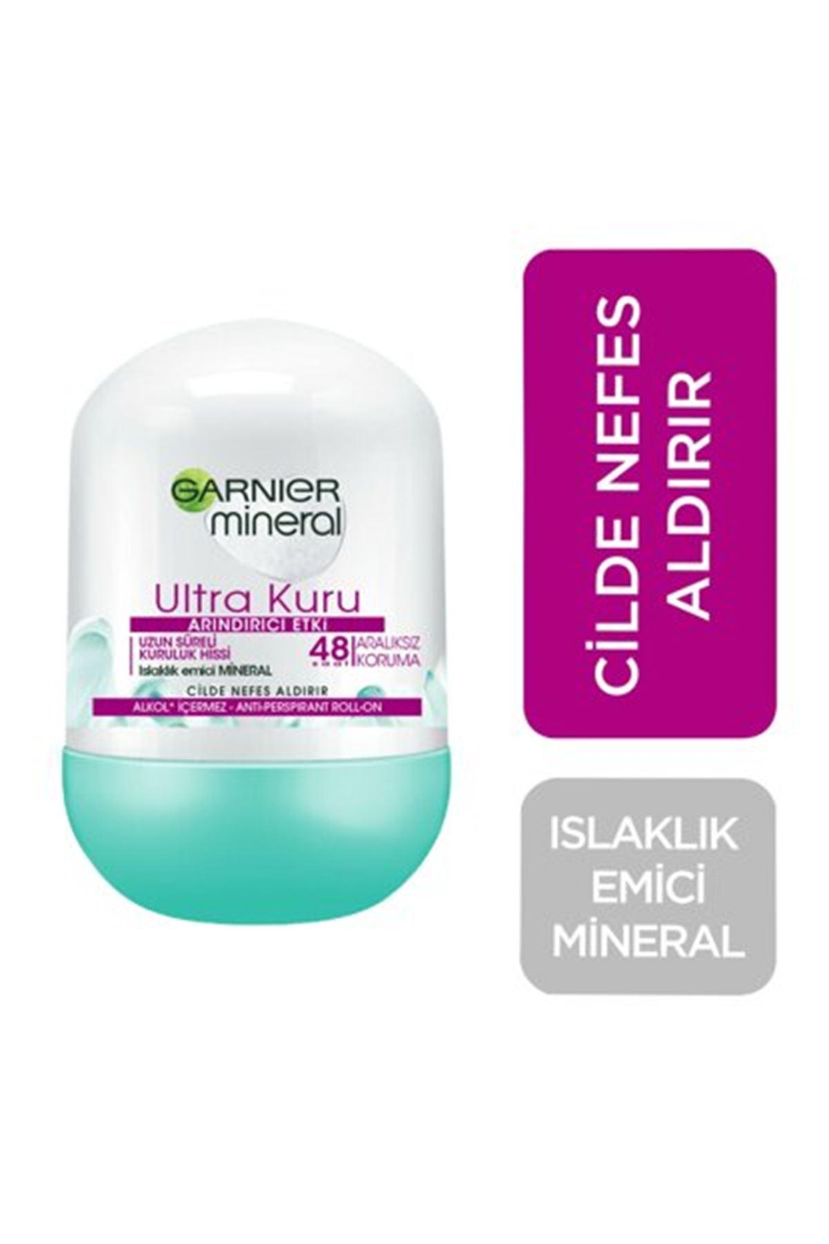 Garnier Mineral Ultra Kuru Roll-on 50 ml
