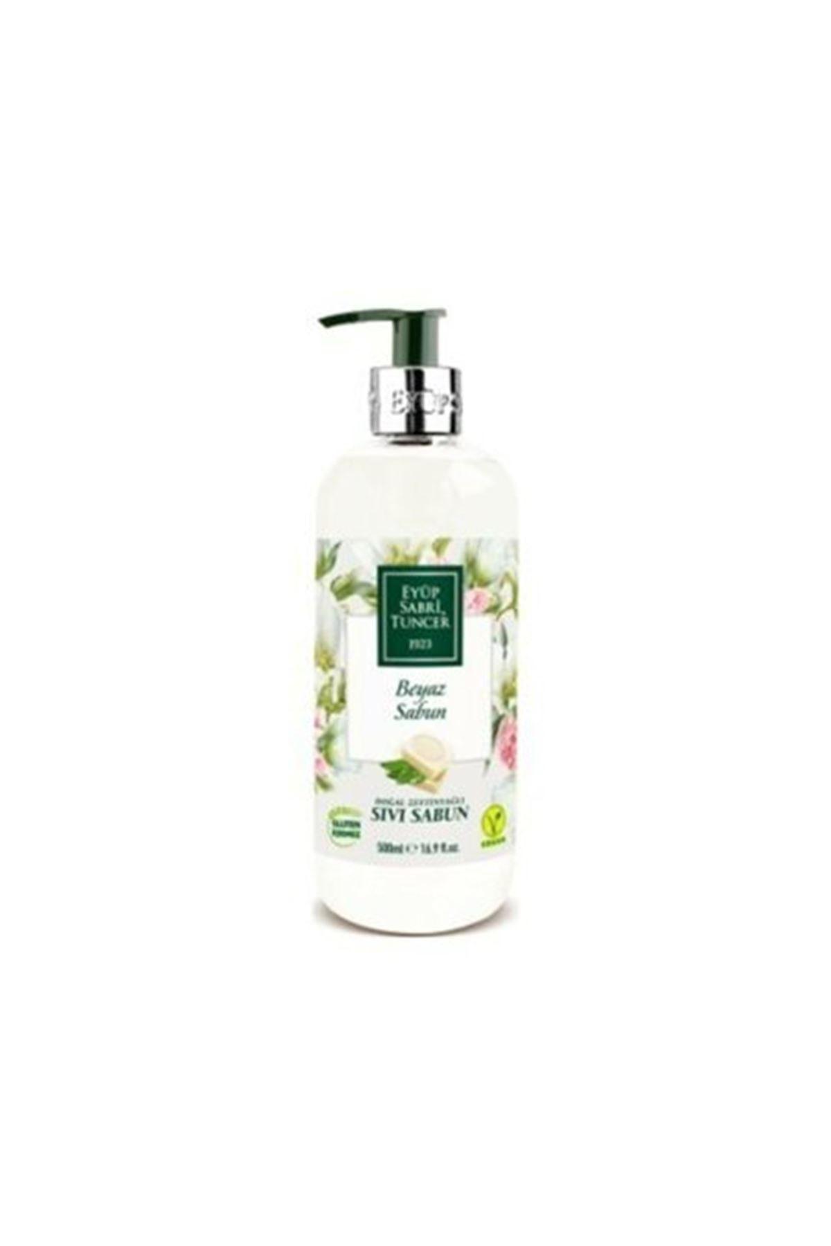 Eyüp Sabri Tuncer Doğal Zeytinyağlı Beyaz Sabun Sıvı Sabun 500 ml