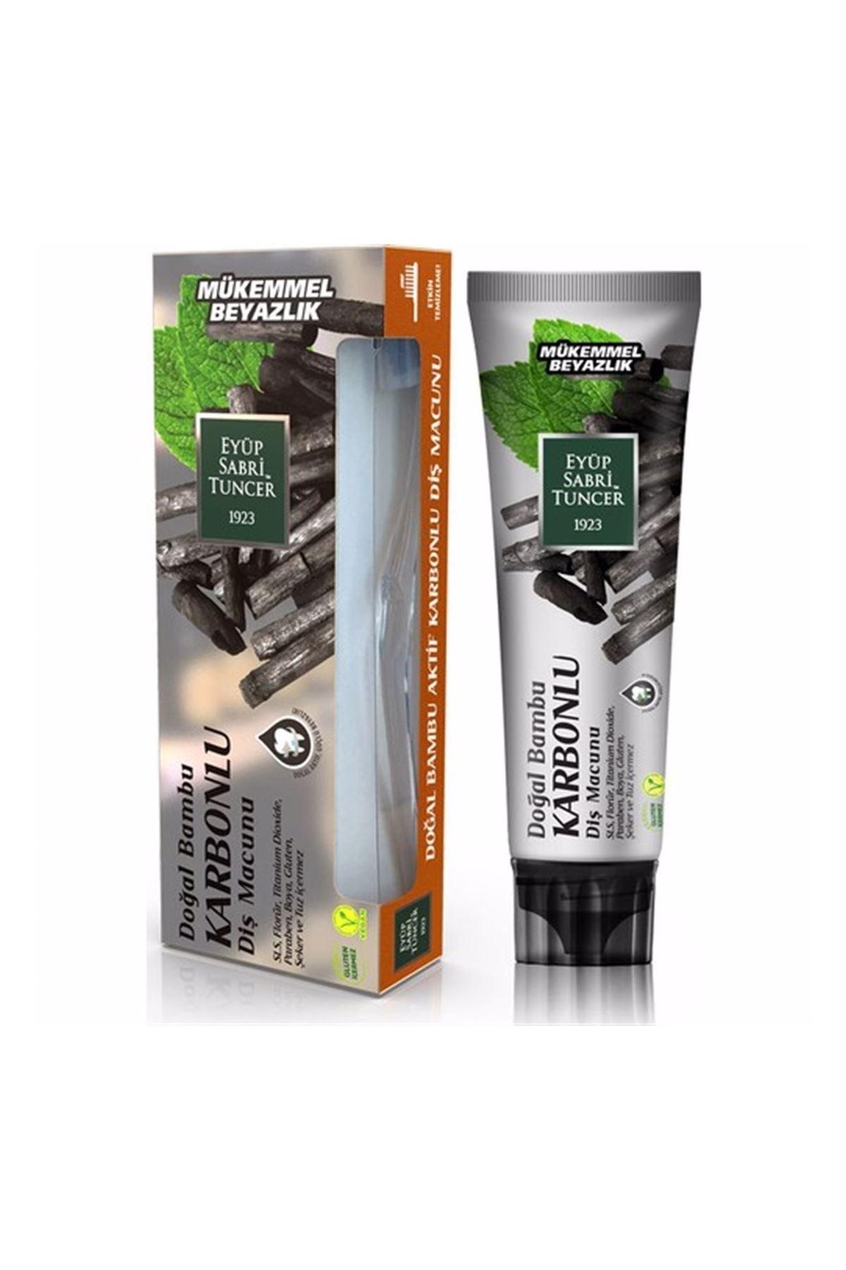 Eyüp Sabri Tuncer Doğal Bambu Aktif Karbonlu Diş Macunu 75 ml