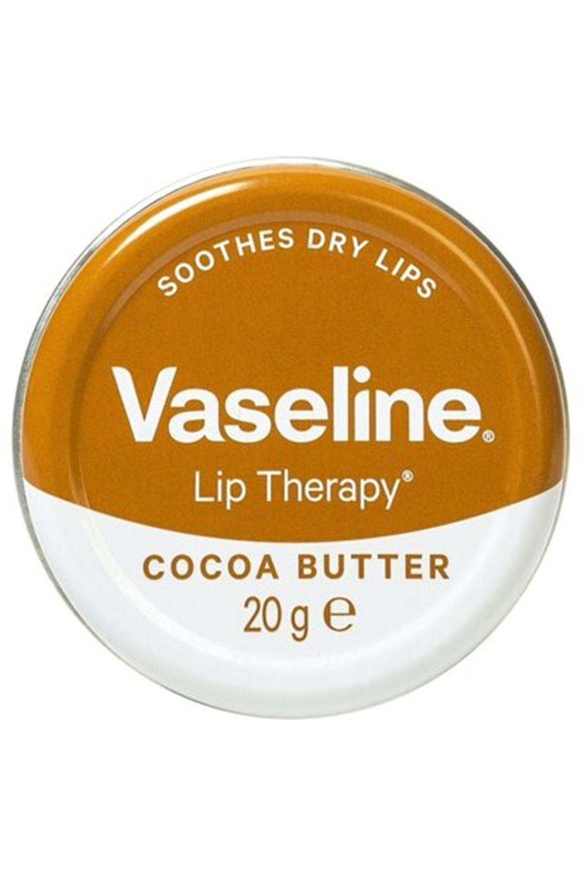 Vaseline Cocoa Butter Lip Therapy Yumuşatıcı Dudak Kremi 20 Gr