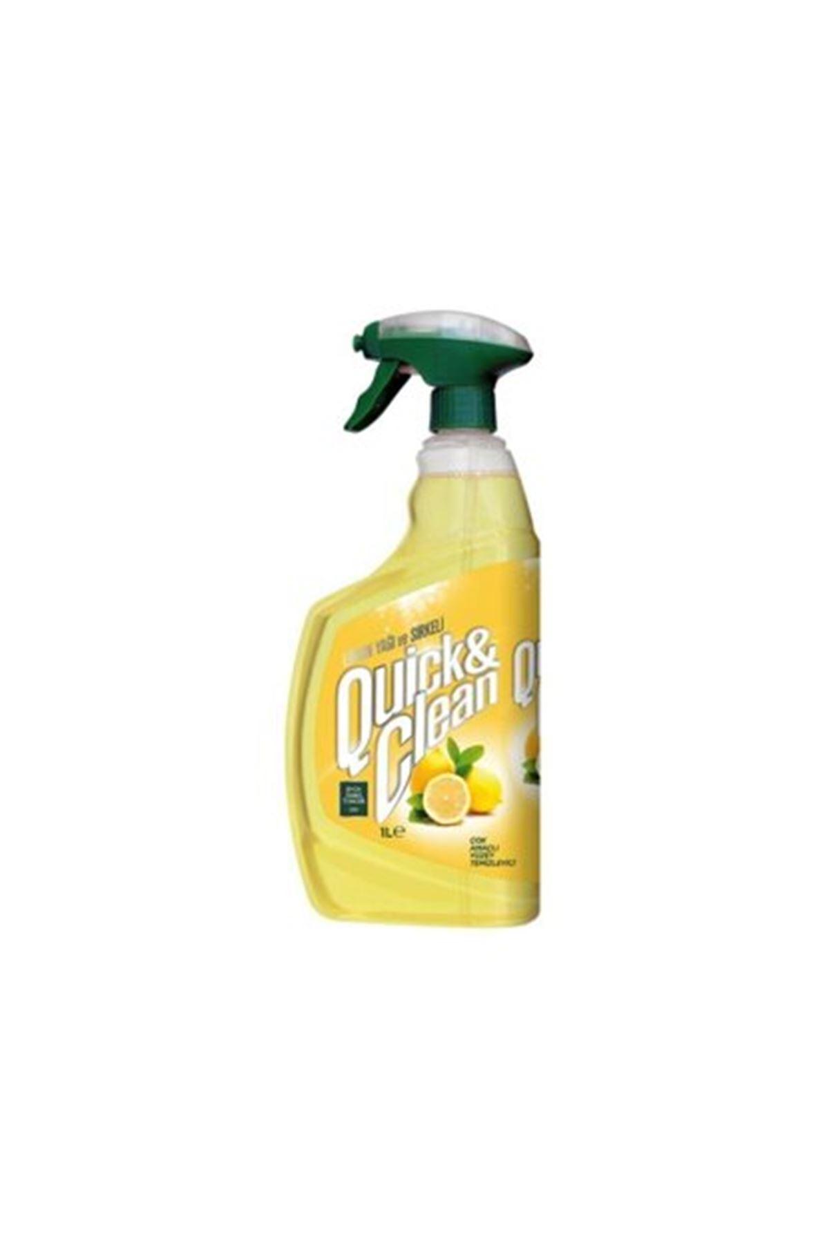 Eyüp Sabri Tuncer Quick & Clean Limon Yağı & Sirkeli Çok Amaçlı Yüzey Temizleyici - 1lt