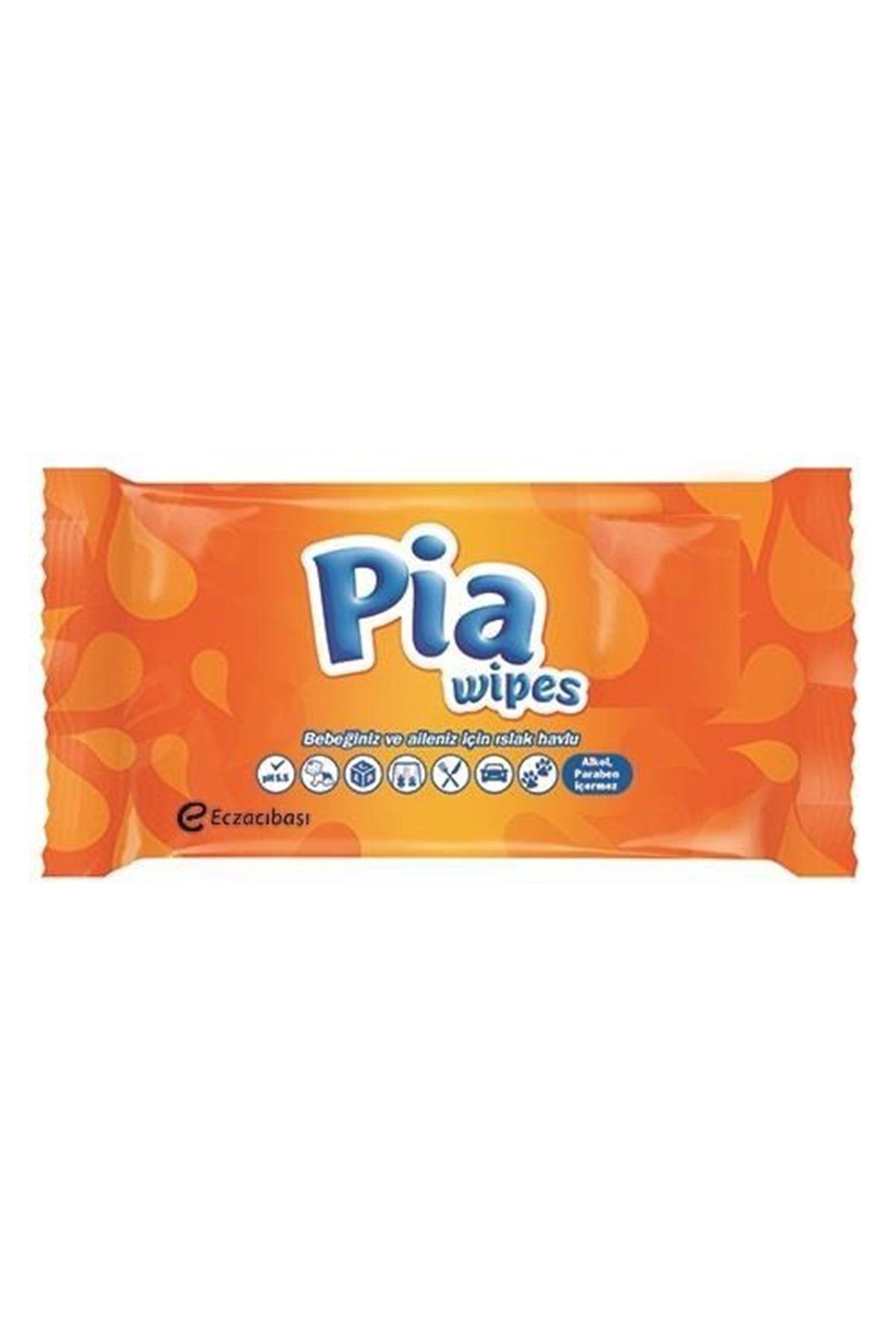 Pia  Wipes 60 adet Islak Havlu / Eczacıbaşı