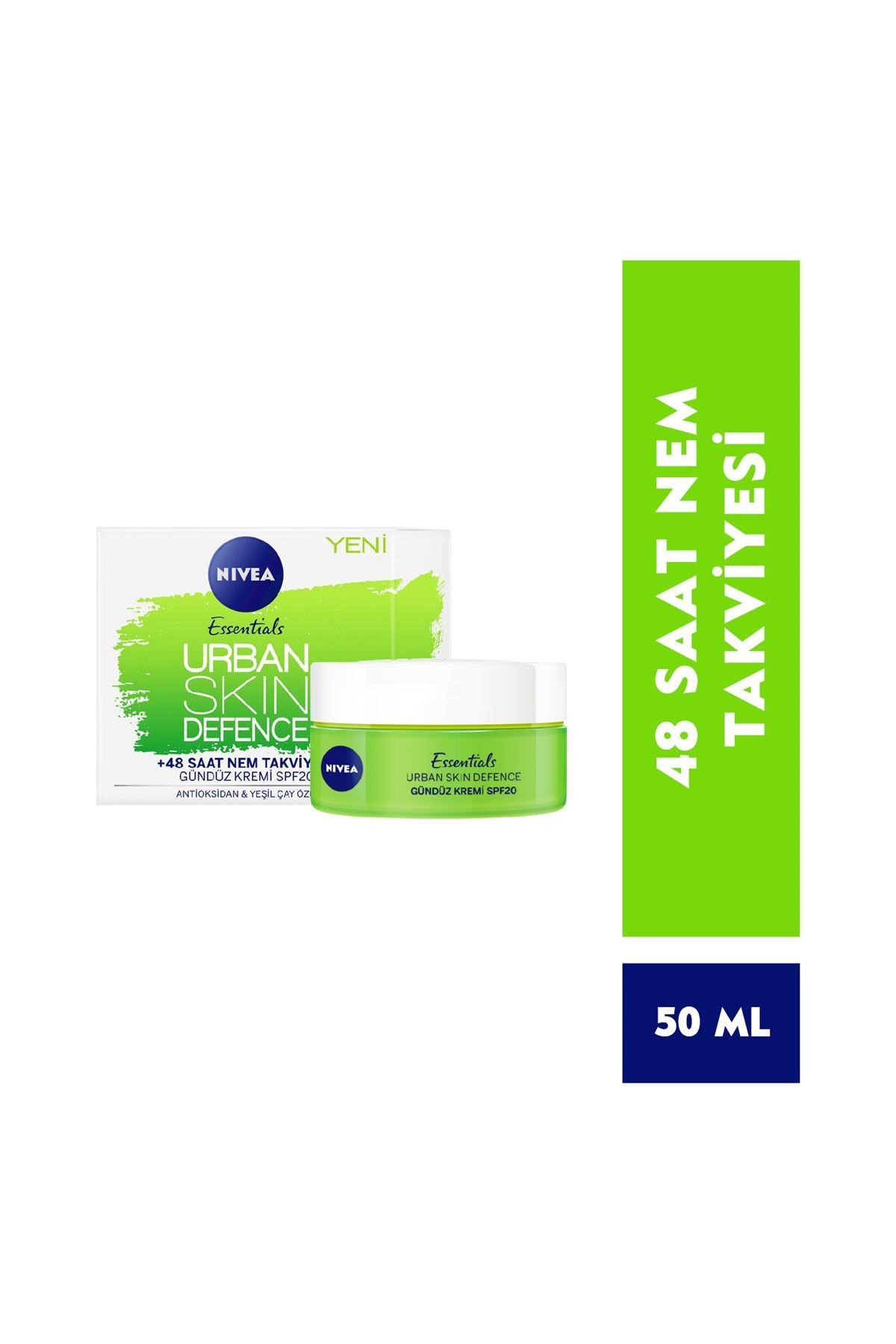 Nivea Essentials Urban Skin Defence Gündüz Kremi 50 ml