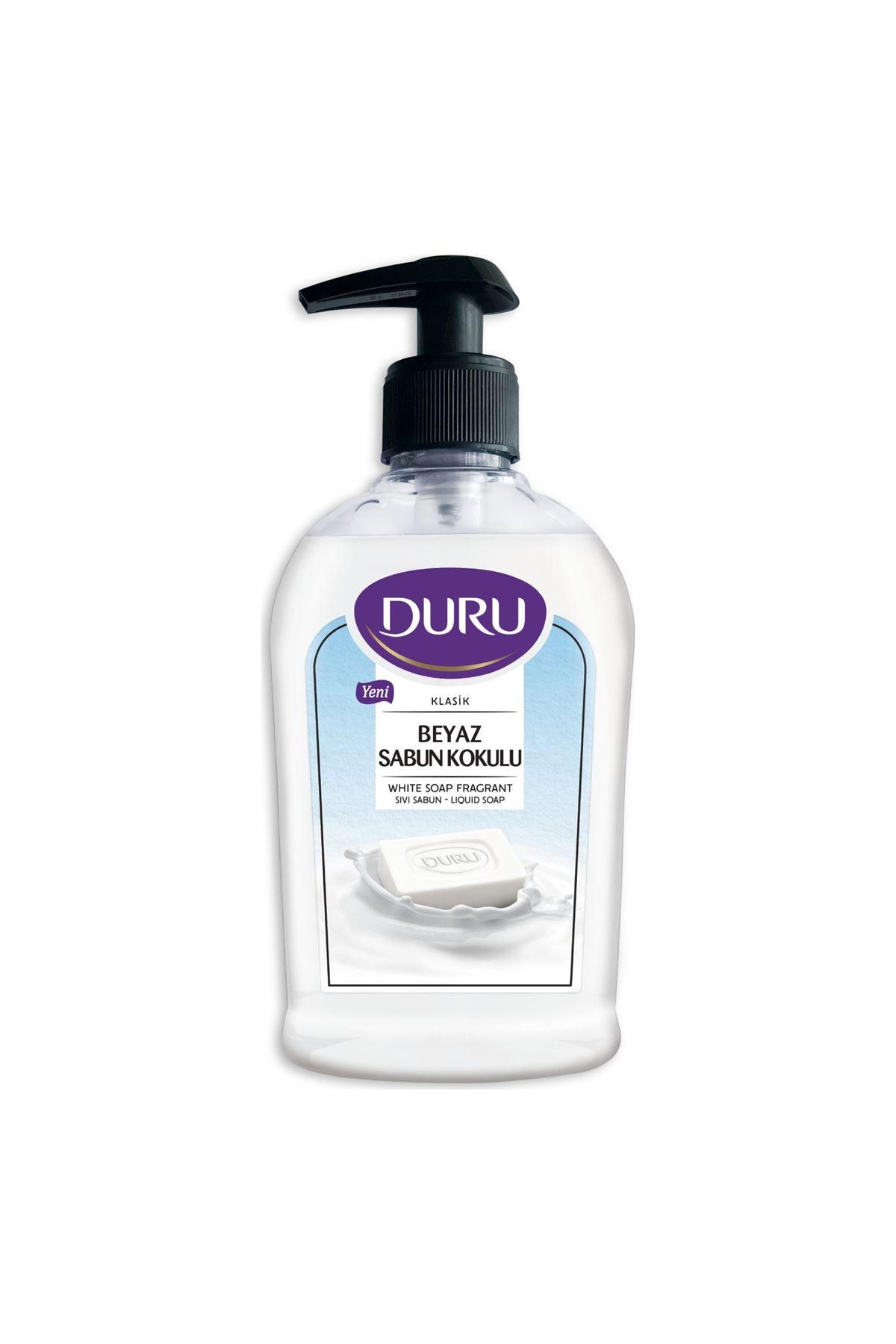 Duru Beyaz Sabun Kokulu Sıvı Sabun 300 ml
