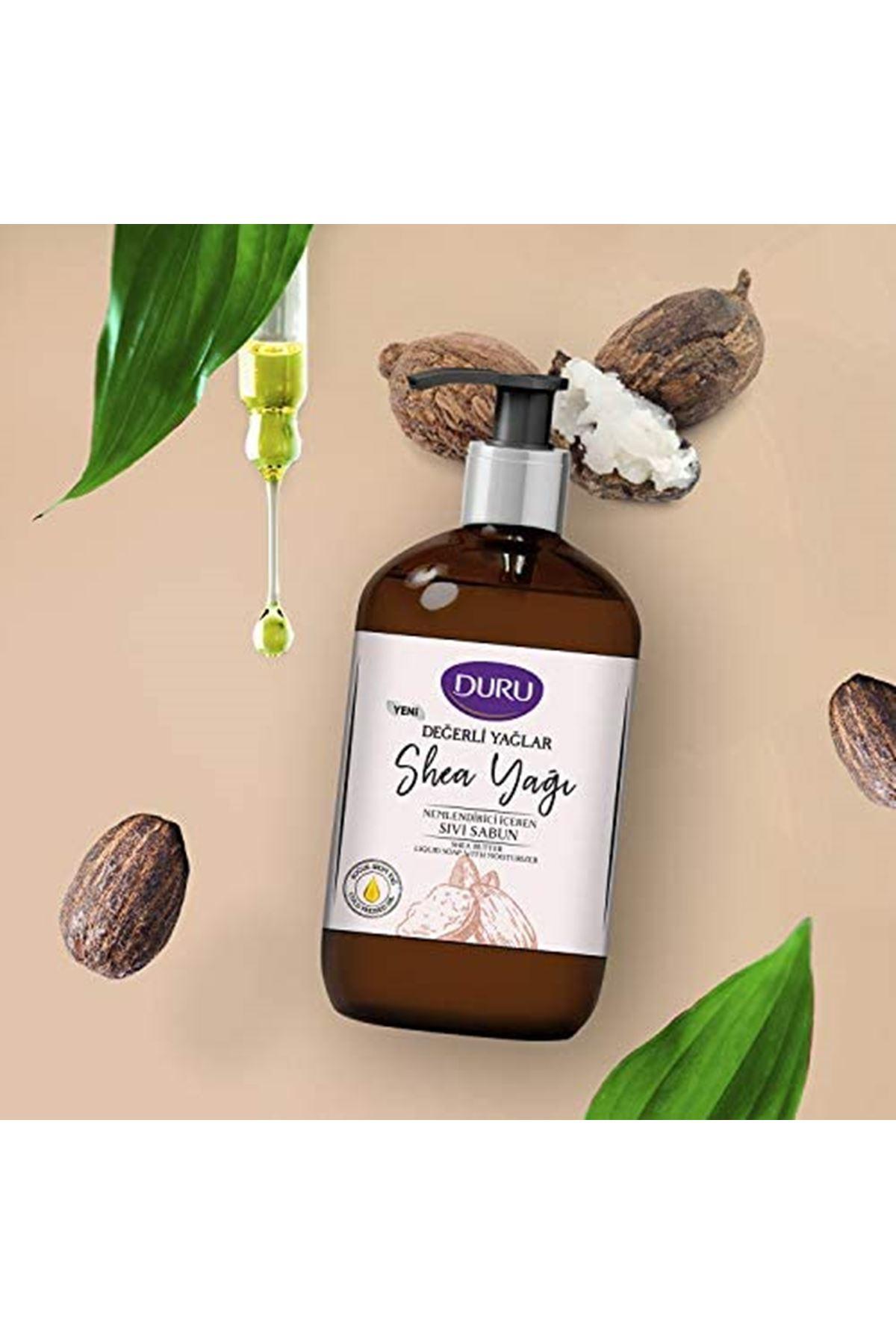 Duru Değerli Yağlar Nemlendiricili Shea Yağı Sıvı Sabun 500 ml