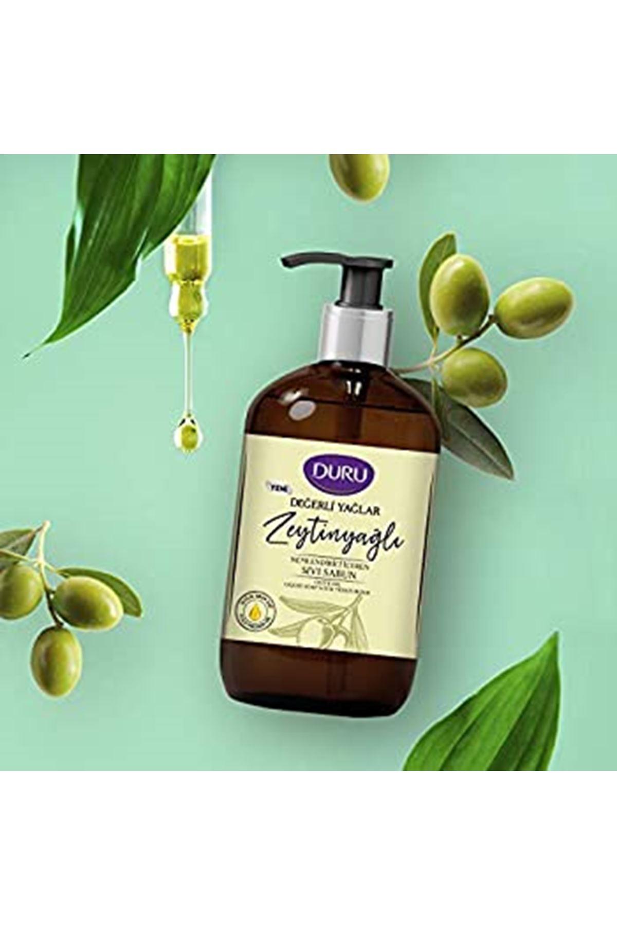 Duru Değerli Yağlar Zeytinyağlı Sıvı Sabun 500 ml