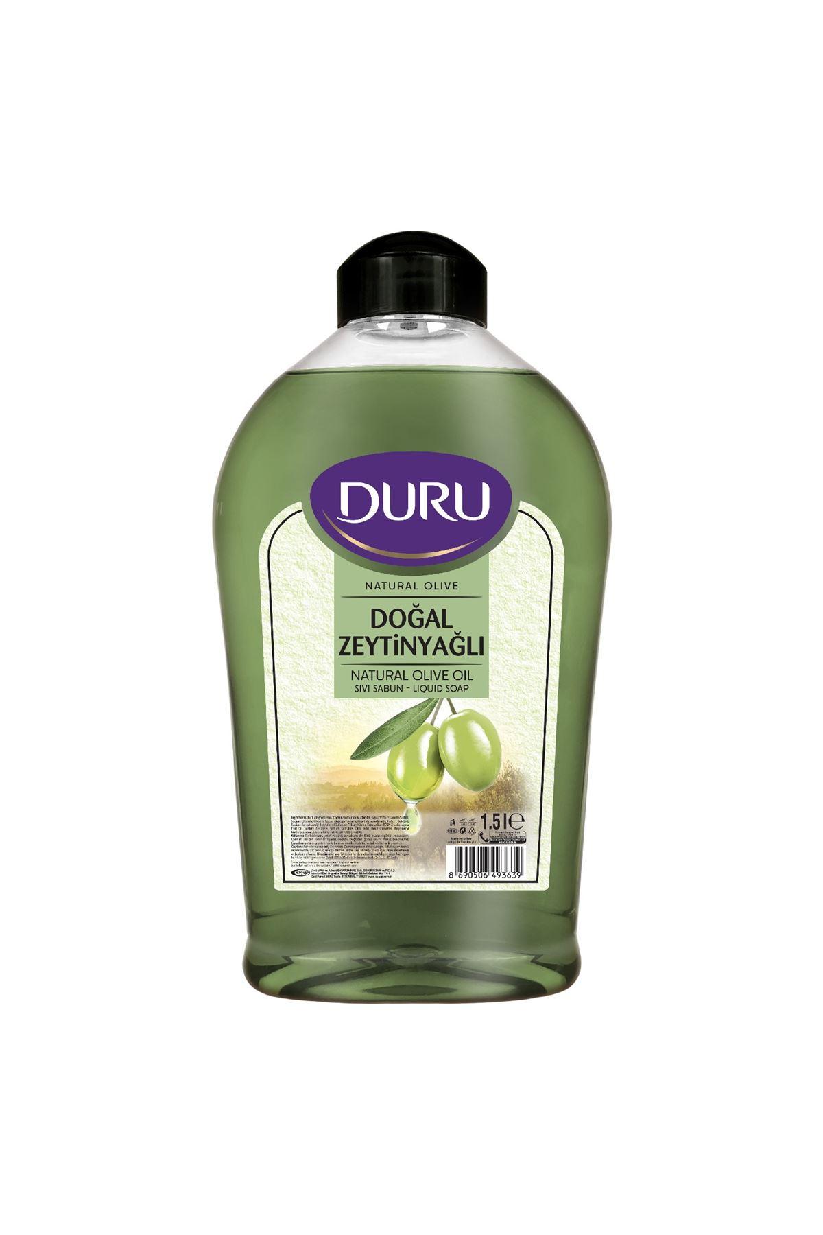 Duru Sıvı Sabun Doğal Zeytinyağlı 1500 ml