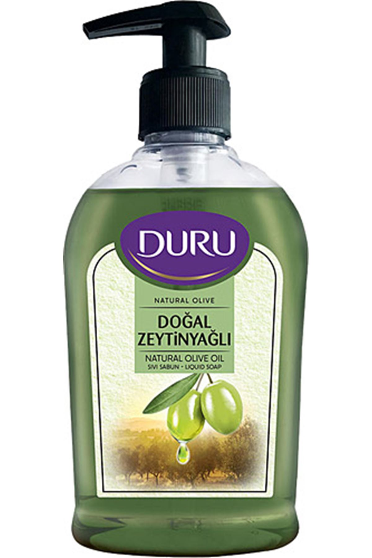 Duru Sıvı Sabun Doğal Zeytinyağlı 300 ml