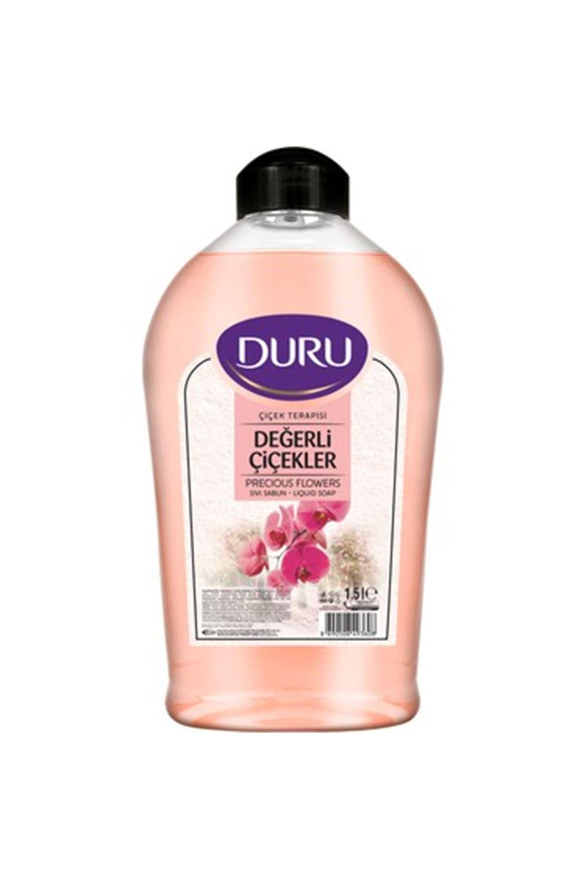 Duru Sıvı Sabun Değerli Çiçekler 1500 ml