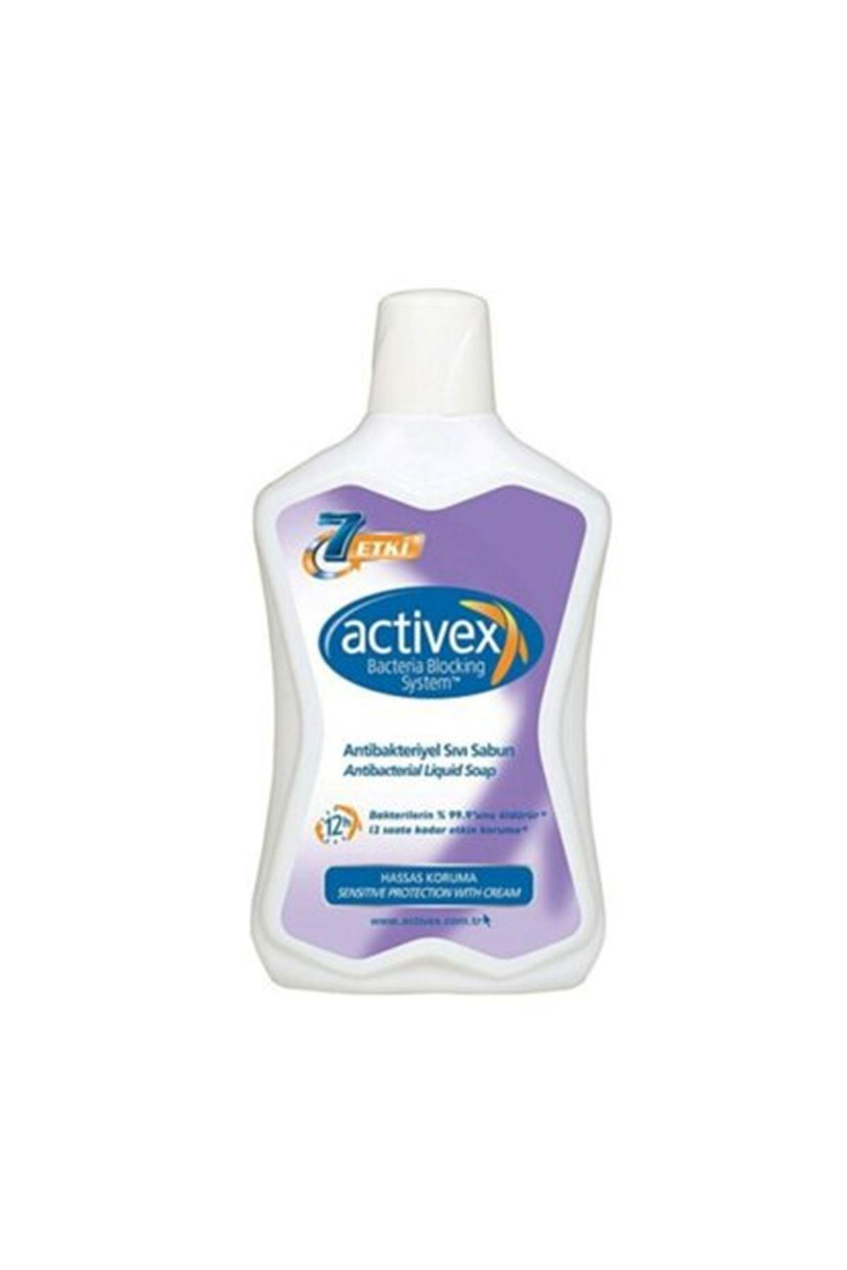 Activex Antibakteriyel Hassas Sıvı Sabun 650 ml