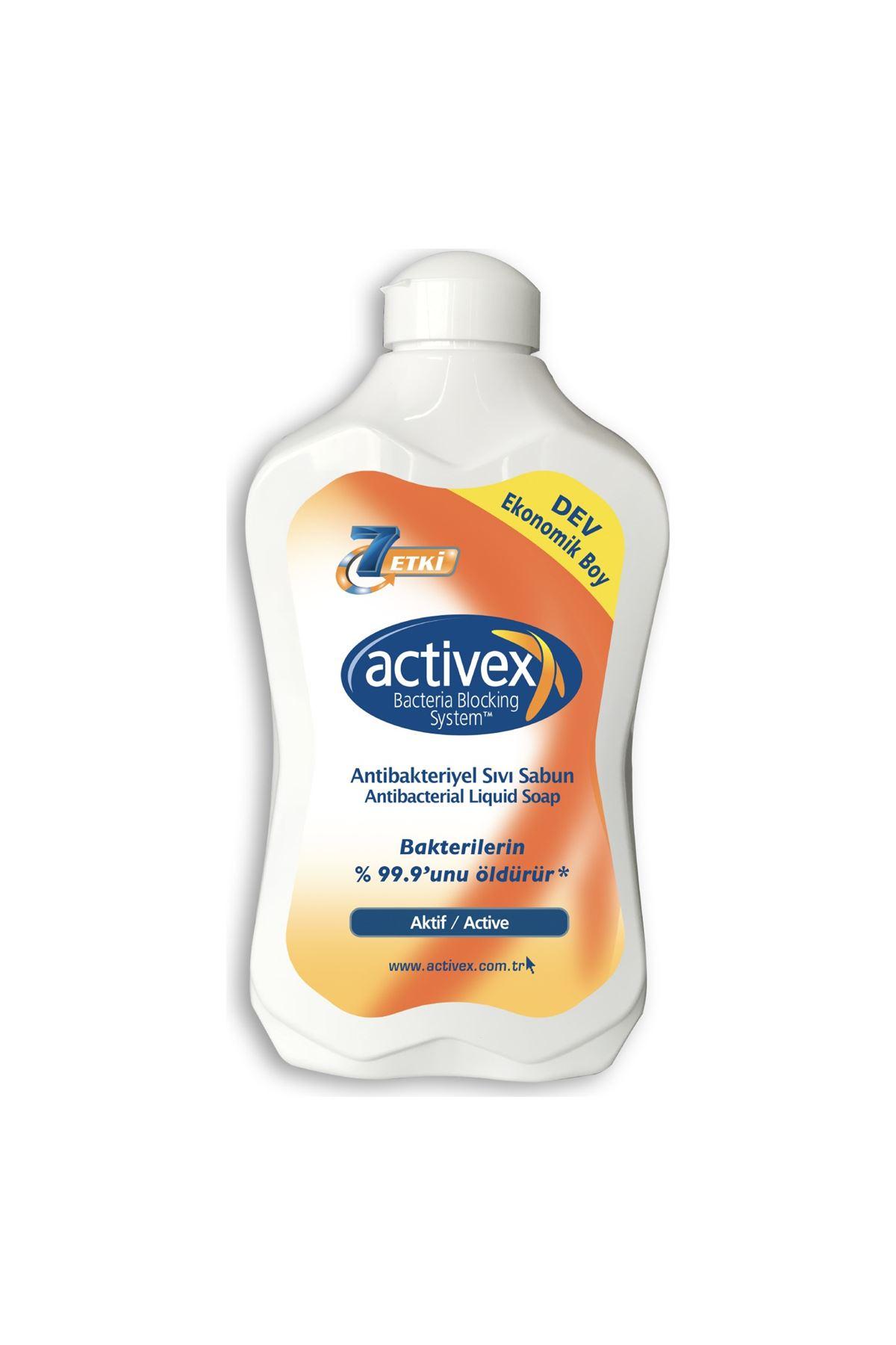 Activex Antibakteriyel Aktif Sıvı Sabun 1500 ml