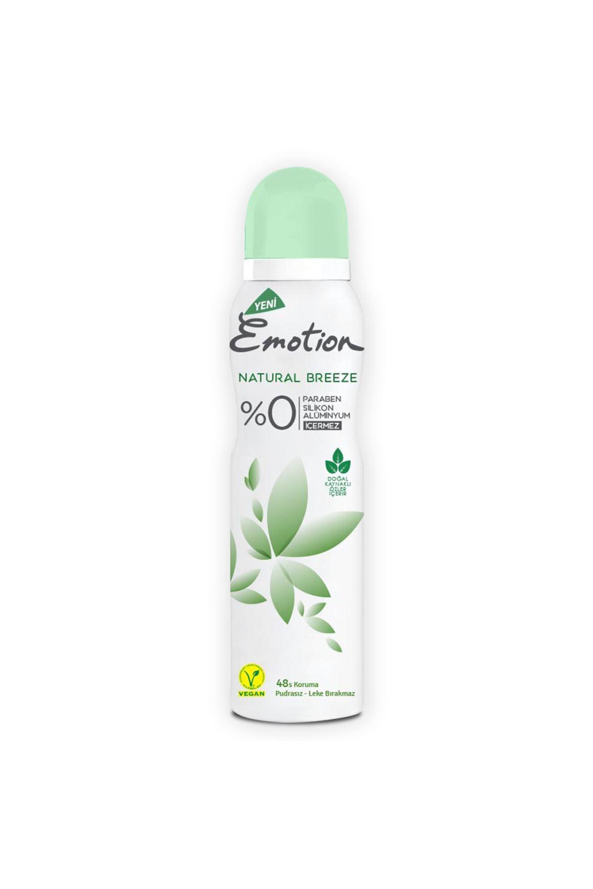 Emotion Natural Breeze Kadın Deodorant  150 ml