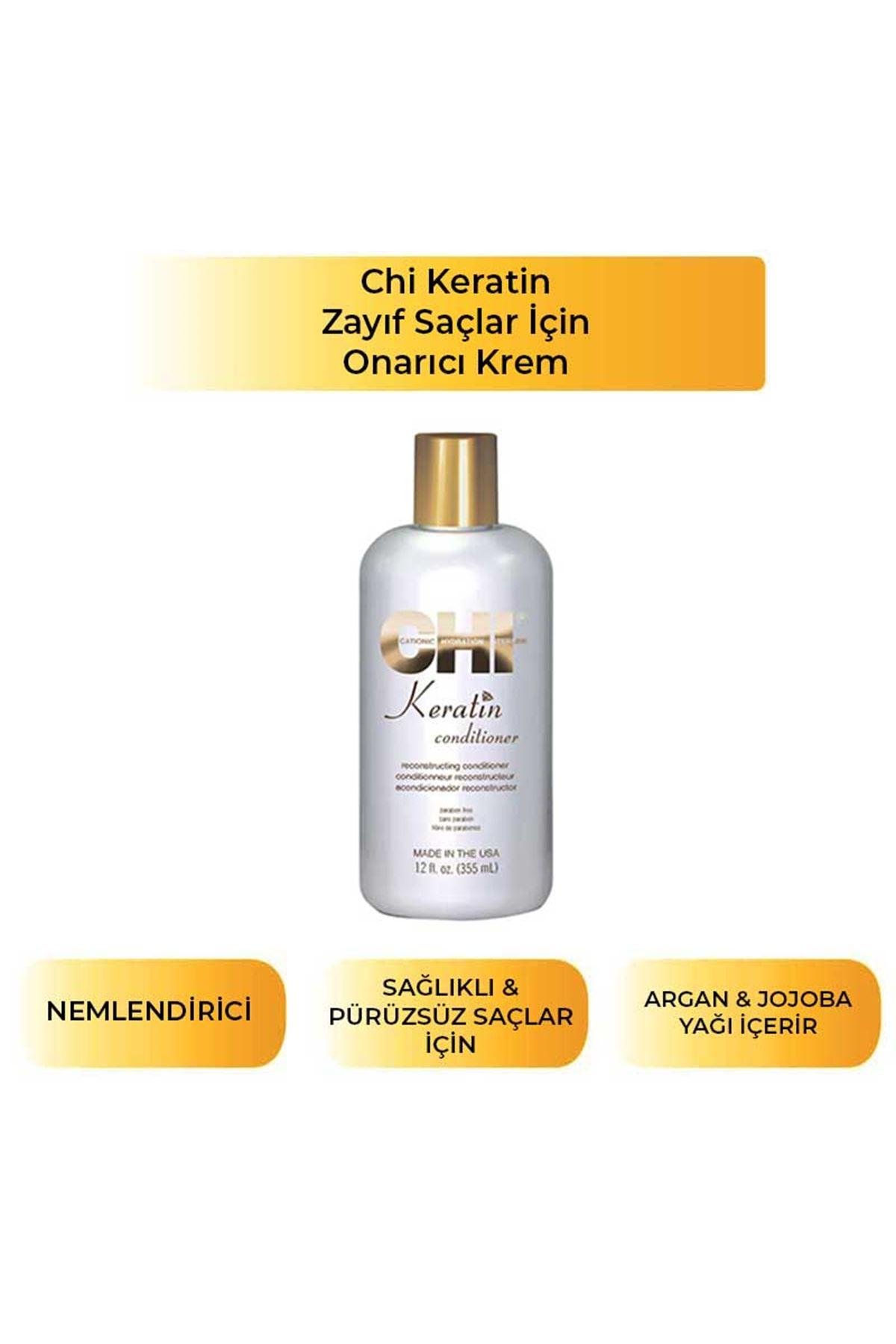CHI Keratin Conditioner  / Saç Kremi / 355 ml
