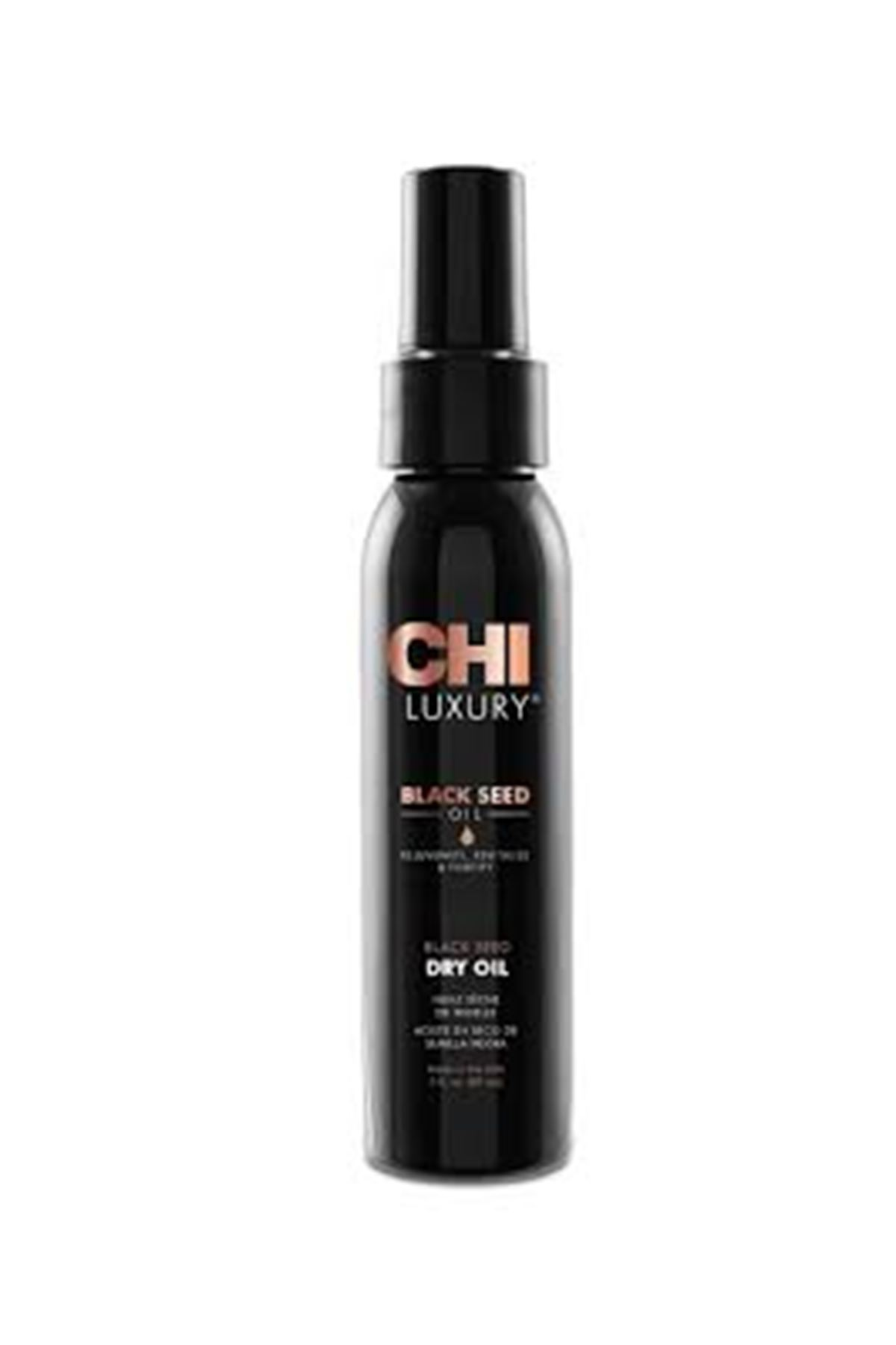 CHI LUXURY® Black Seed Oil Black Seed Dry Oil-Kuru Çörek Otu Yağı 89ml