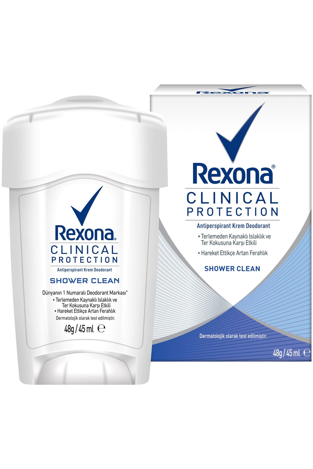 Rexona Clinical Protection Shower Clean Roll-on 45ml