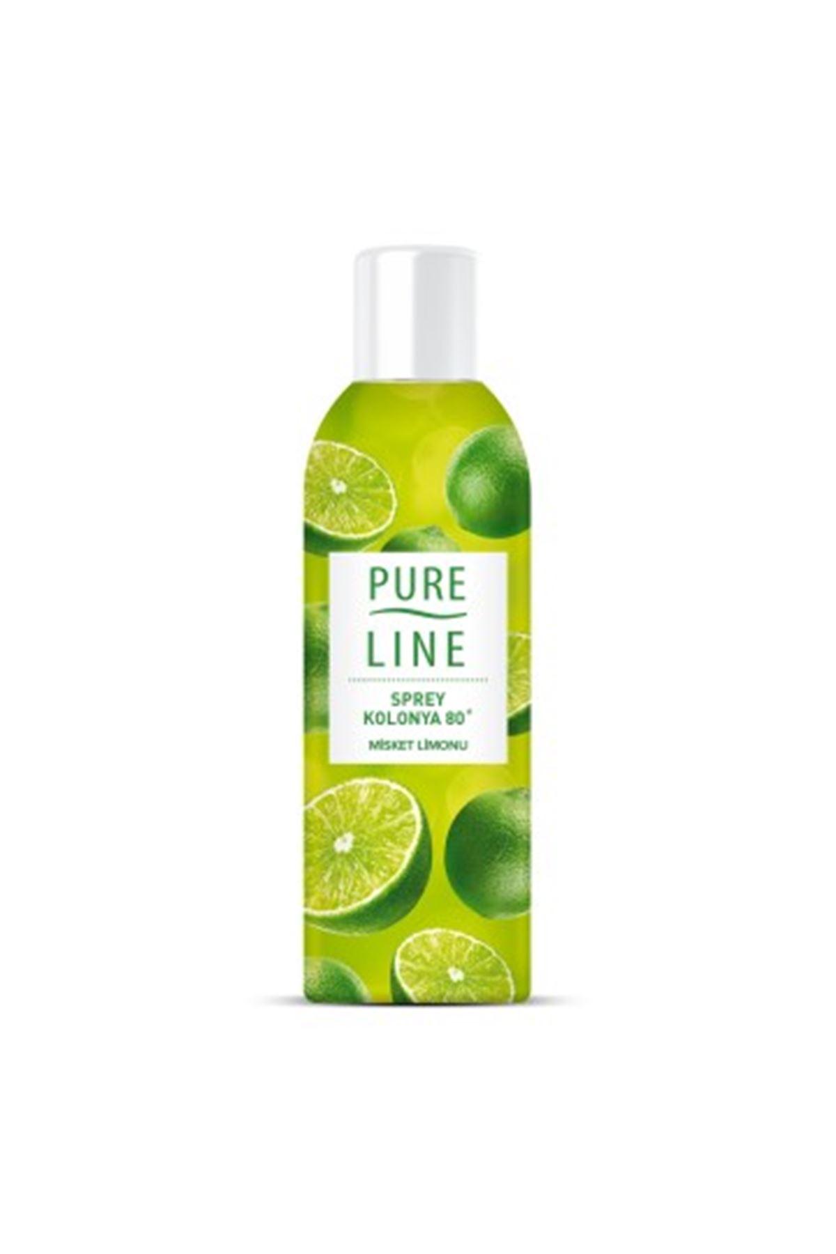Pure Line Misket Limonu Sprey Kolonya 100 ml