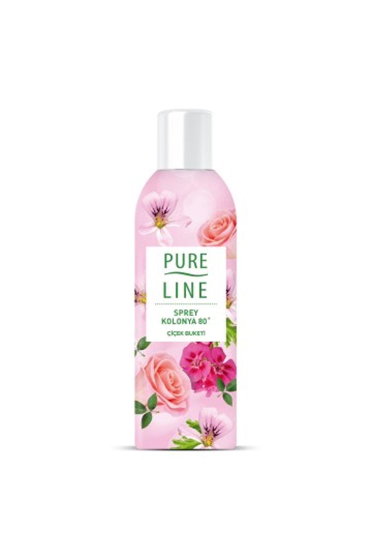 Pure Line Çiçek Buketi Sprey Kolonya 100 ml