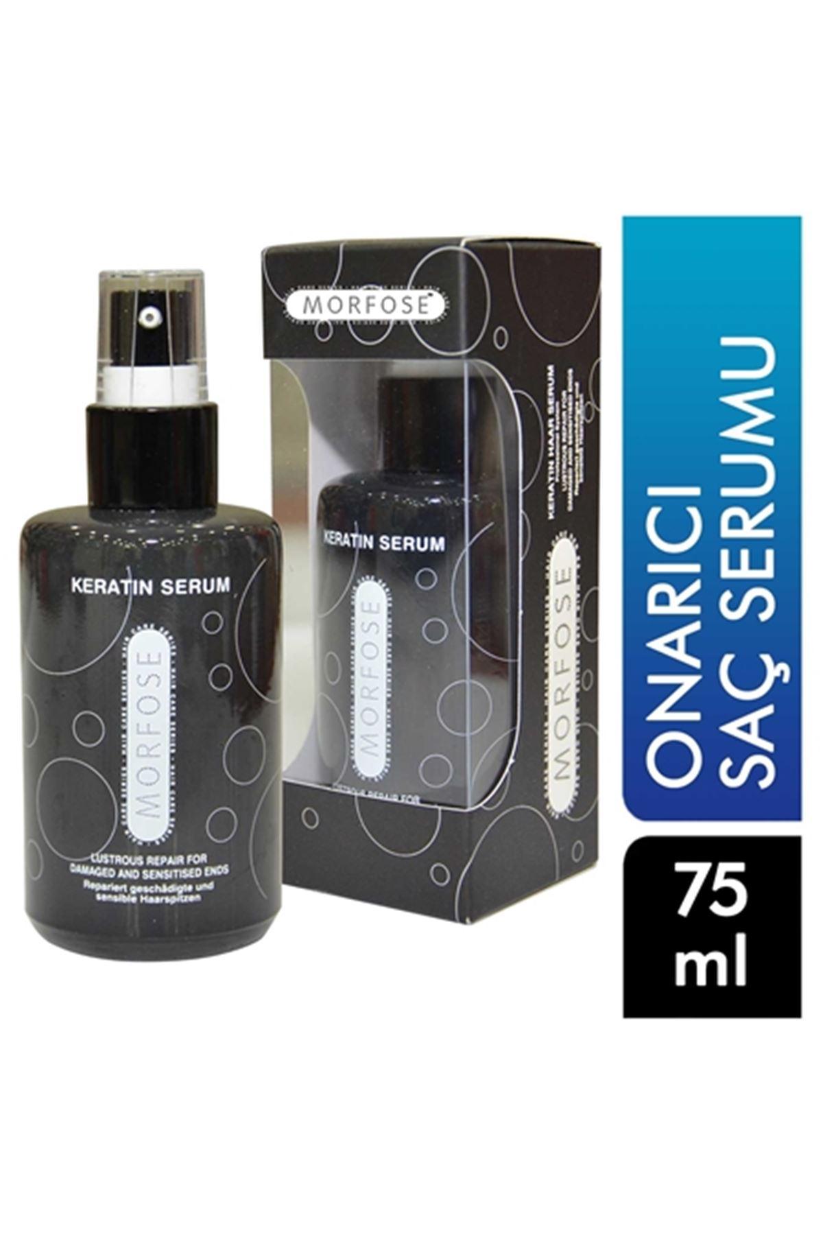 Morfose Keratinli Saç Serumu Siyah 75 ml