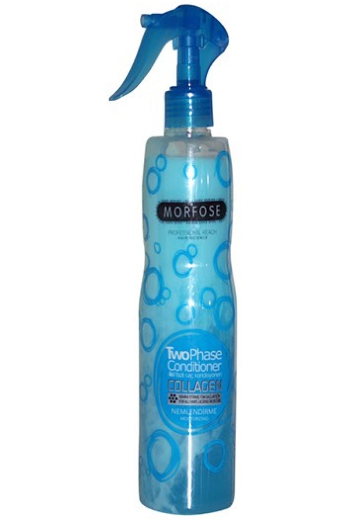 Morfose Mavi Kolajen İçerikli Çift Fazlı Fön Suyu 400 ml