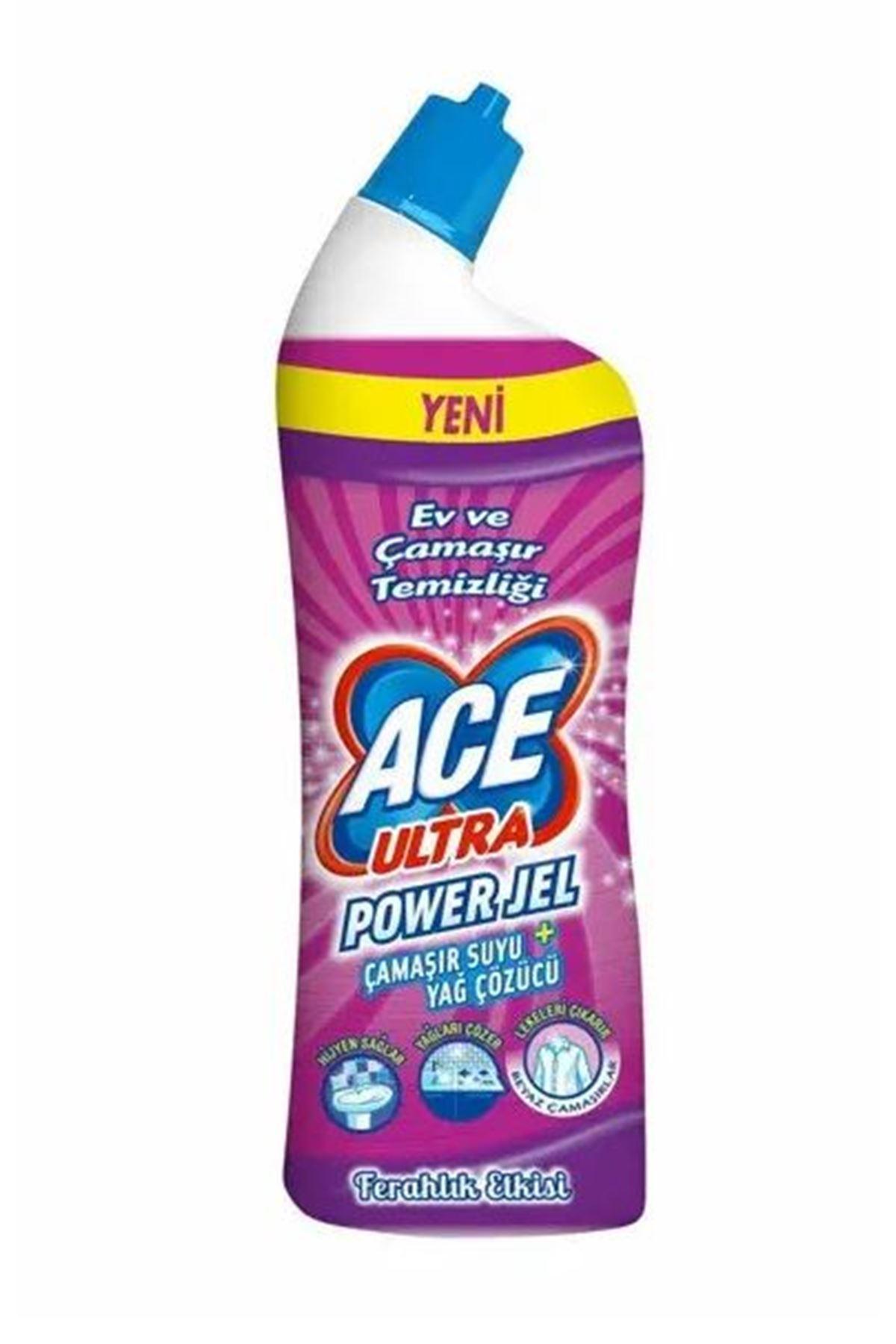 Ace Ultra Power Jel Dağ Ferahlığı Etkisi 750 ml