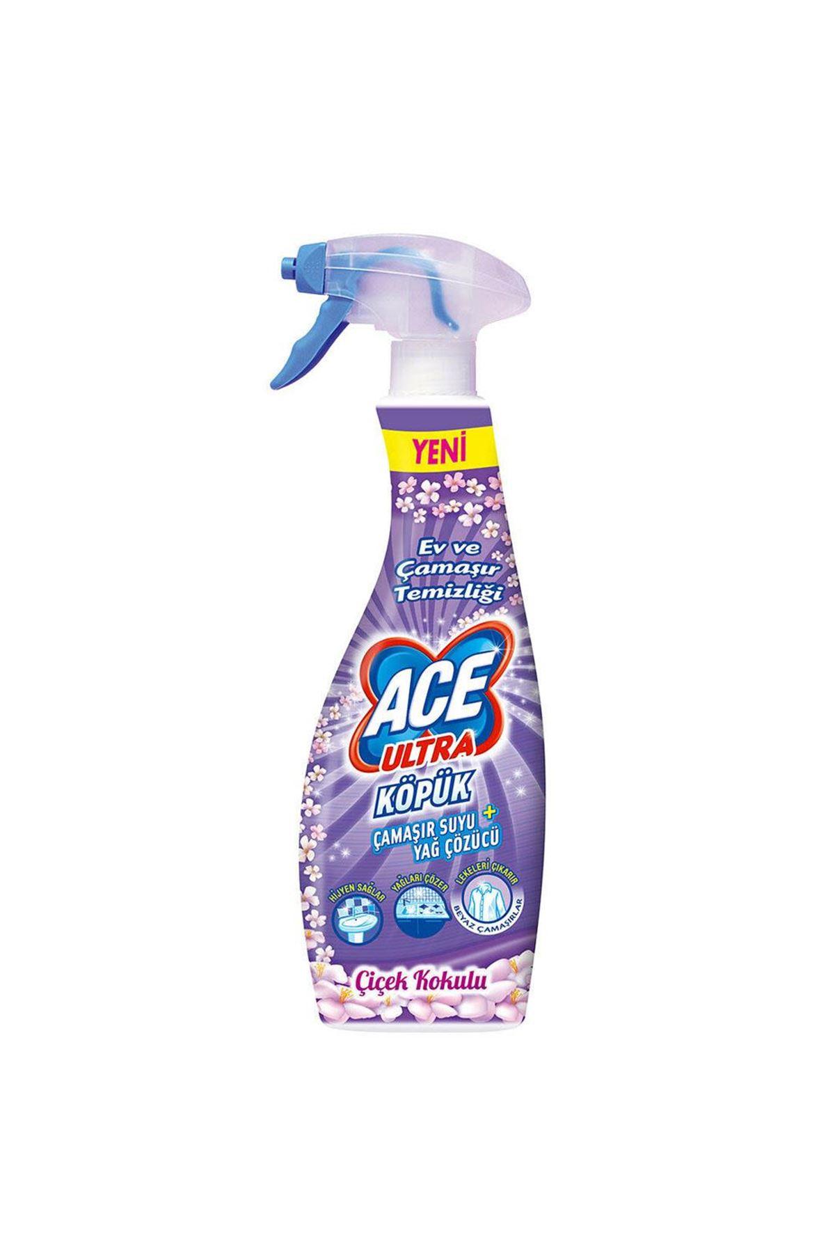 Ace Ultra Köpük Çiçek Kokulu 700 ml