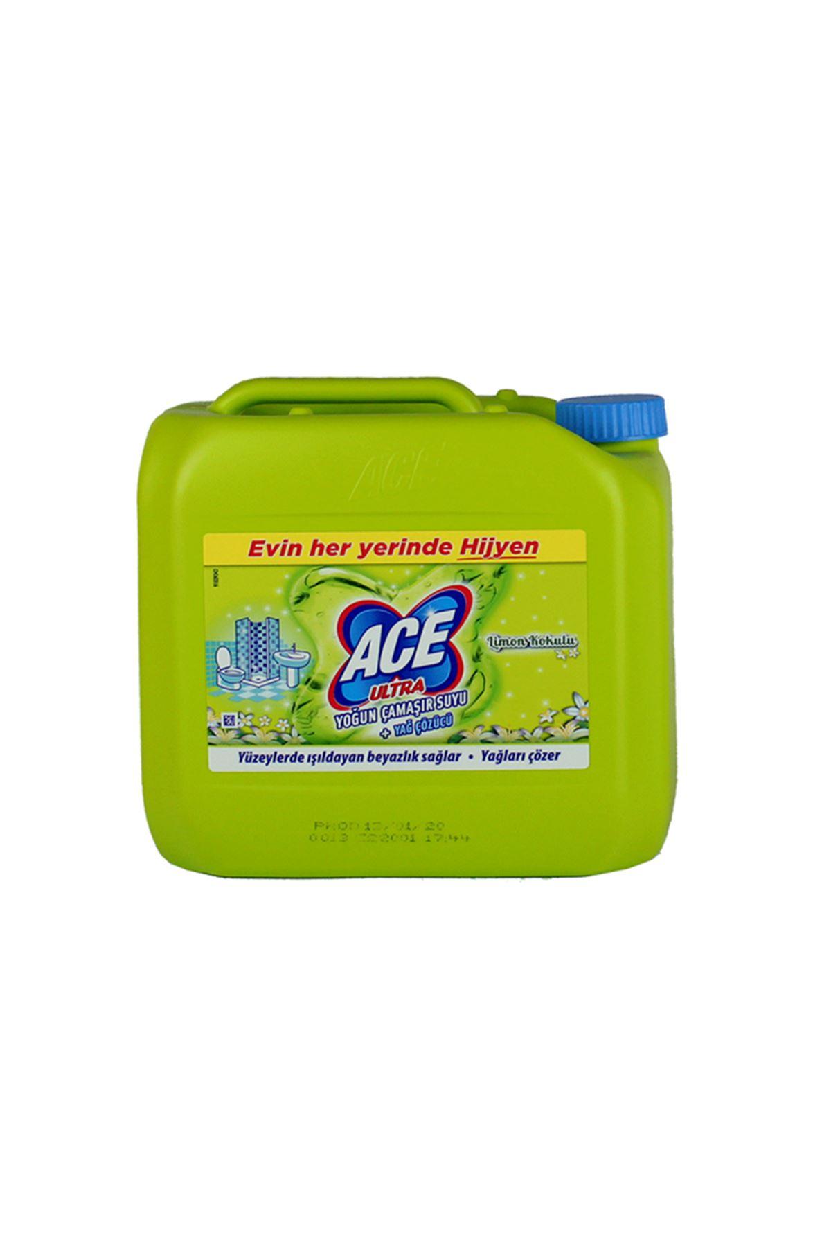 Ace Ultra Çamaşır Suyu Limon 3 KG