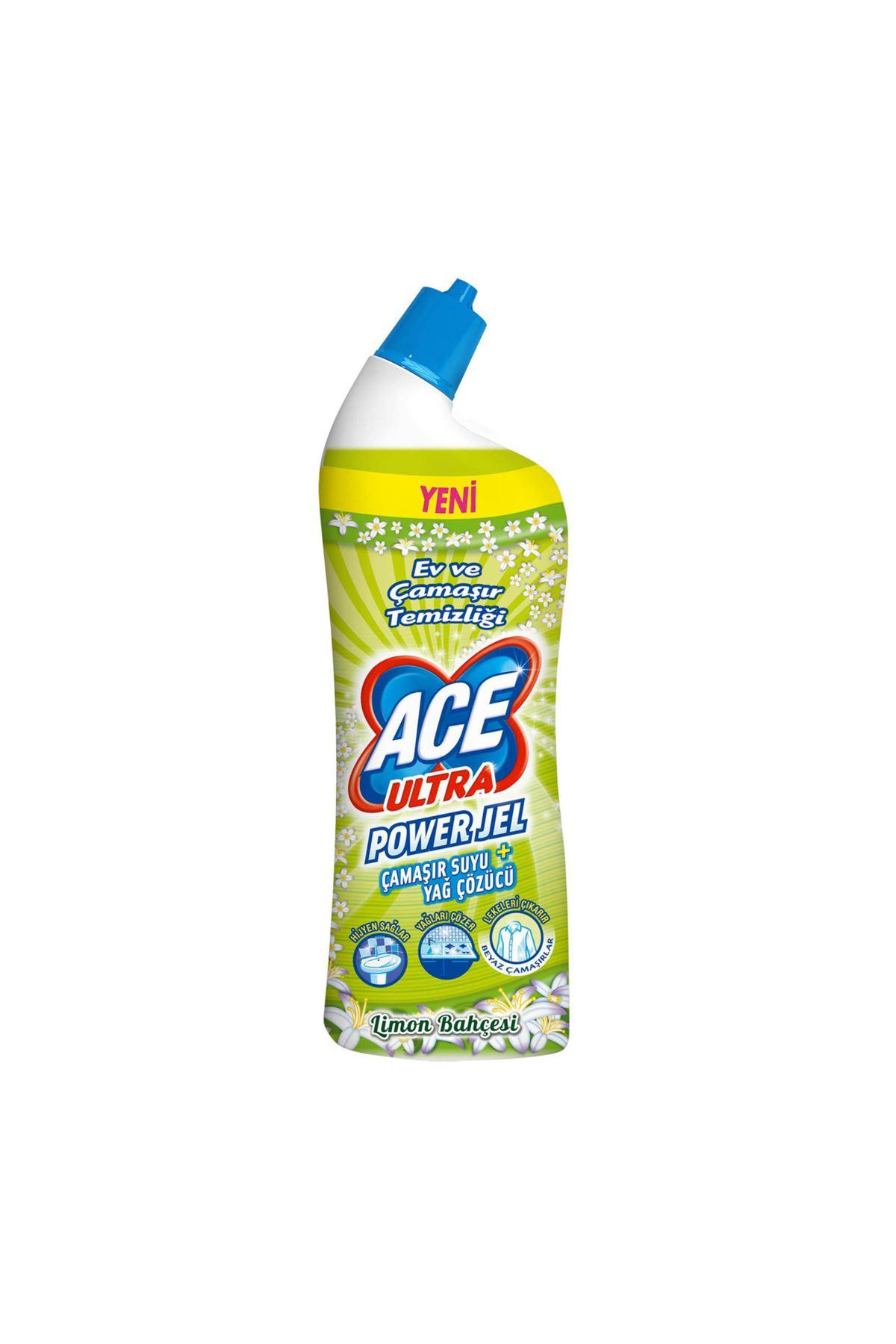 Ace Ultra Power Jel Limon Etkisi 750 ml