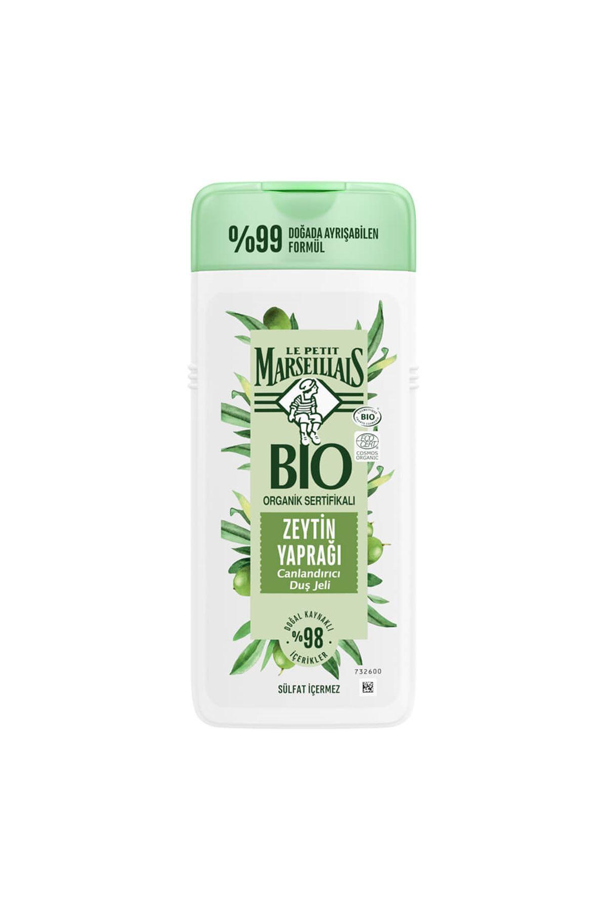 Le Petit Marseillais Bio Organic Sertifikalı Zeytin Yaprağı Canlandırıcı Duş Jeli 400ml
