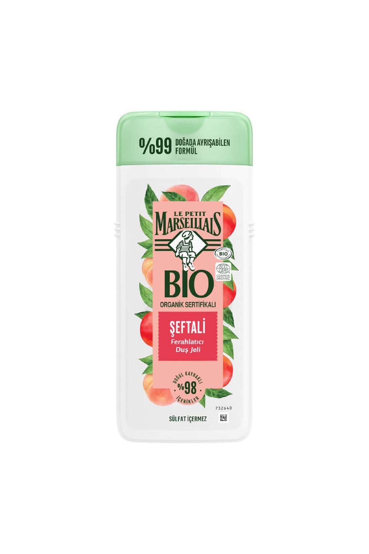 Le Petit Marseillais Bio Organic Sertifikalı Şeftali Duş Jeli 400ml