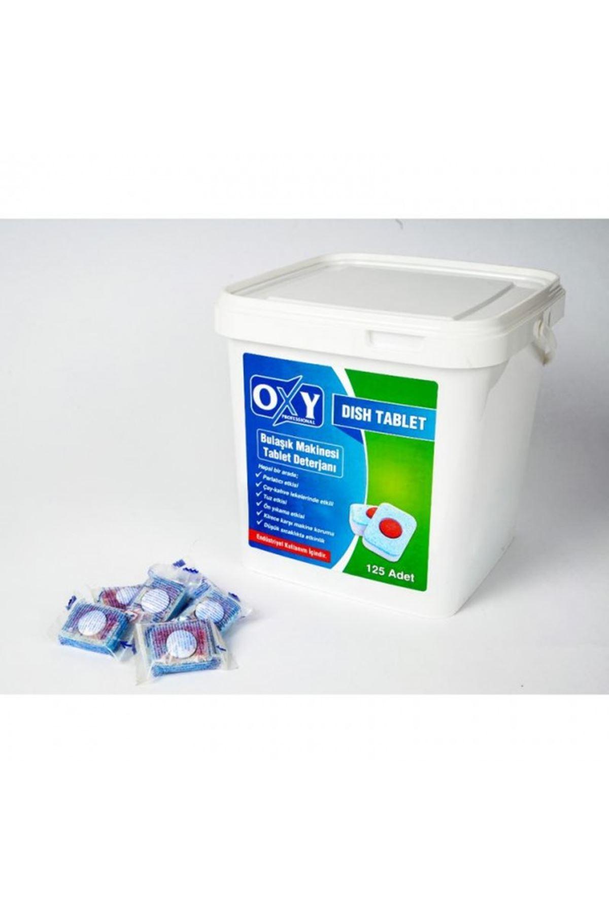 Oxy Professional Bulaşık Makinesi Tableti 125 Adet